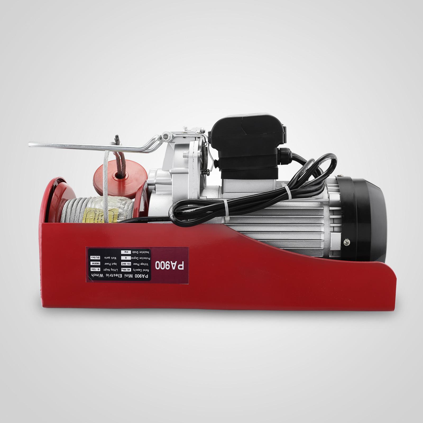 100kg-900kg-Electric-Hoist-Winch-Lifting-Engine-Crane-Cable-Lift-Hook-Garage miniature 66