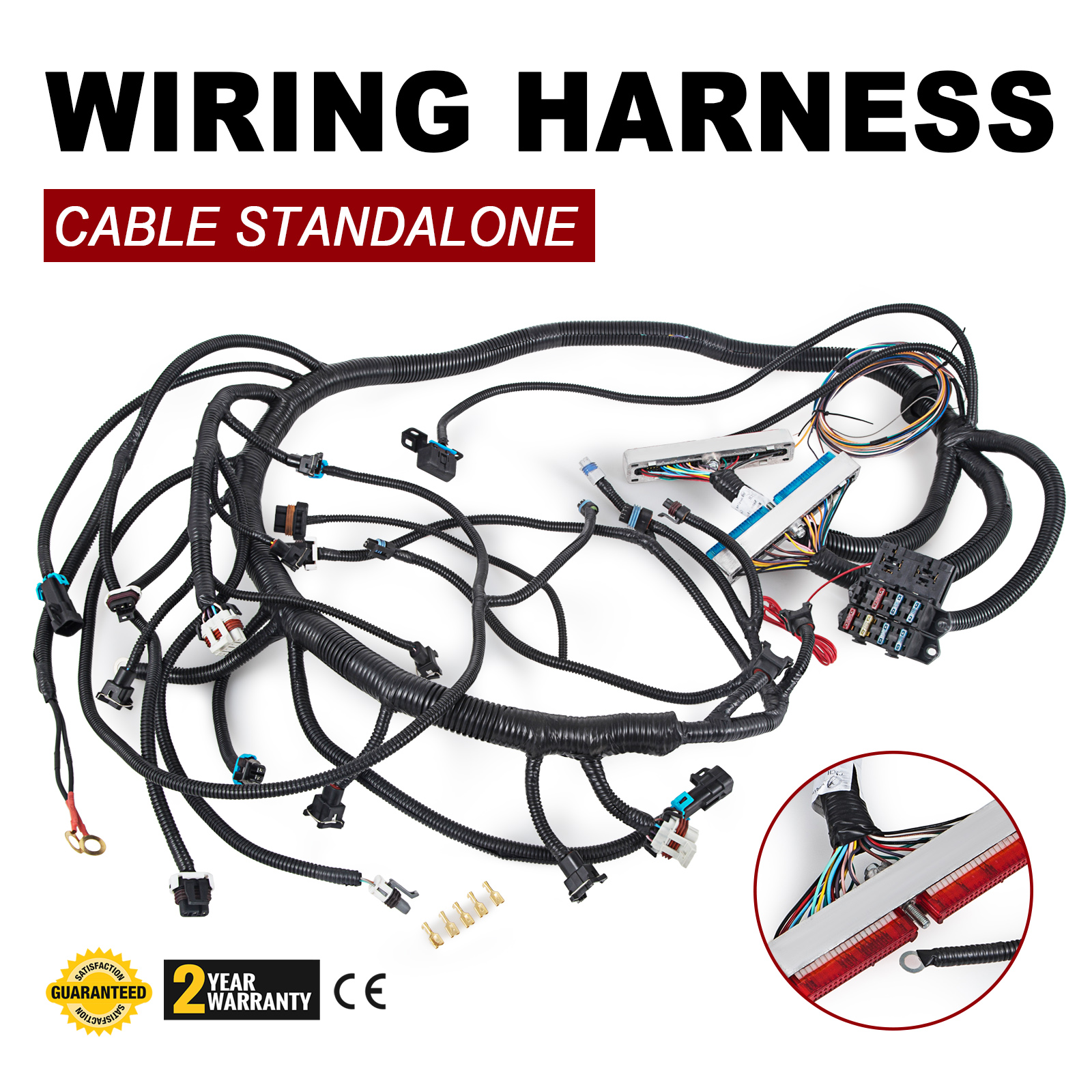 Get 97 02 Dbc Ls1 Standalone Wiring Harness With T56 Non Electric 5 3 Watch This Item Email A Friend
