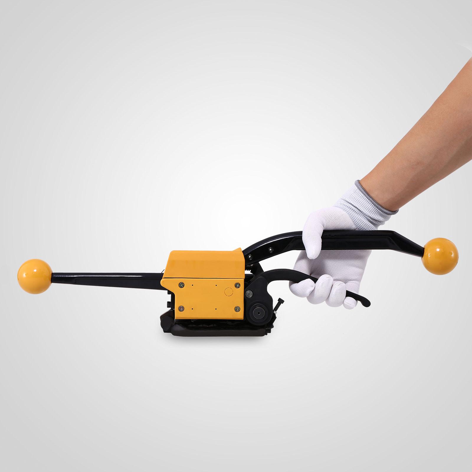 Stahlband umreifungsband Umreifungsgerät bandspanner hülsenlos Strapping Tool de