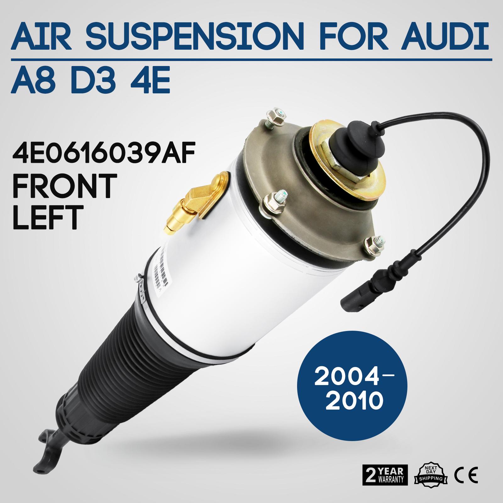 Front Left Air Suspension Shock Strut Assembly For 2002-10 Audi A8 Quattro D3 4E