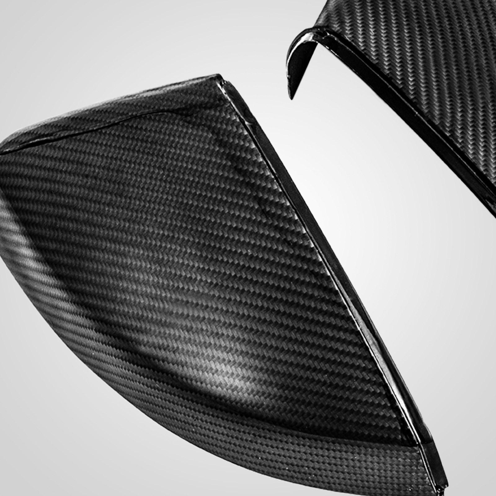 new carbon spiegelkappen spiegel geh use passend f r audi. Black Bedroom Furniture Sets. Home Design Ideas