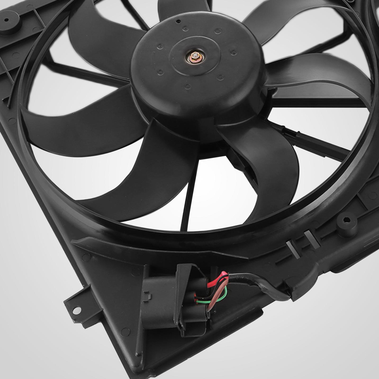 Radiator Cooling Dual Fan For Audi A3 VW Jetta CC Gtieos Beetle 1.8L1.9L 2.0L