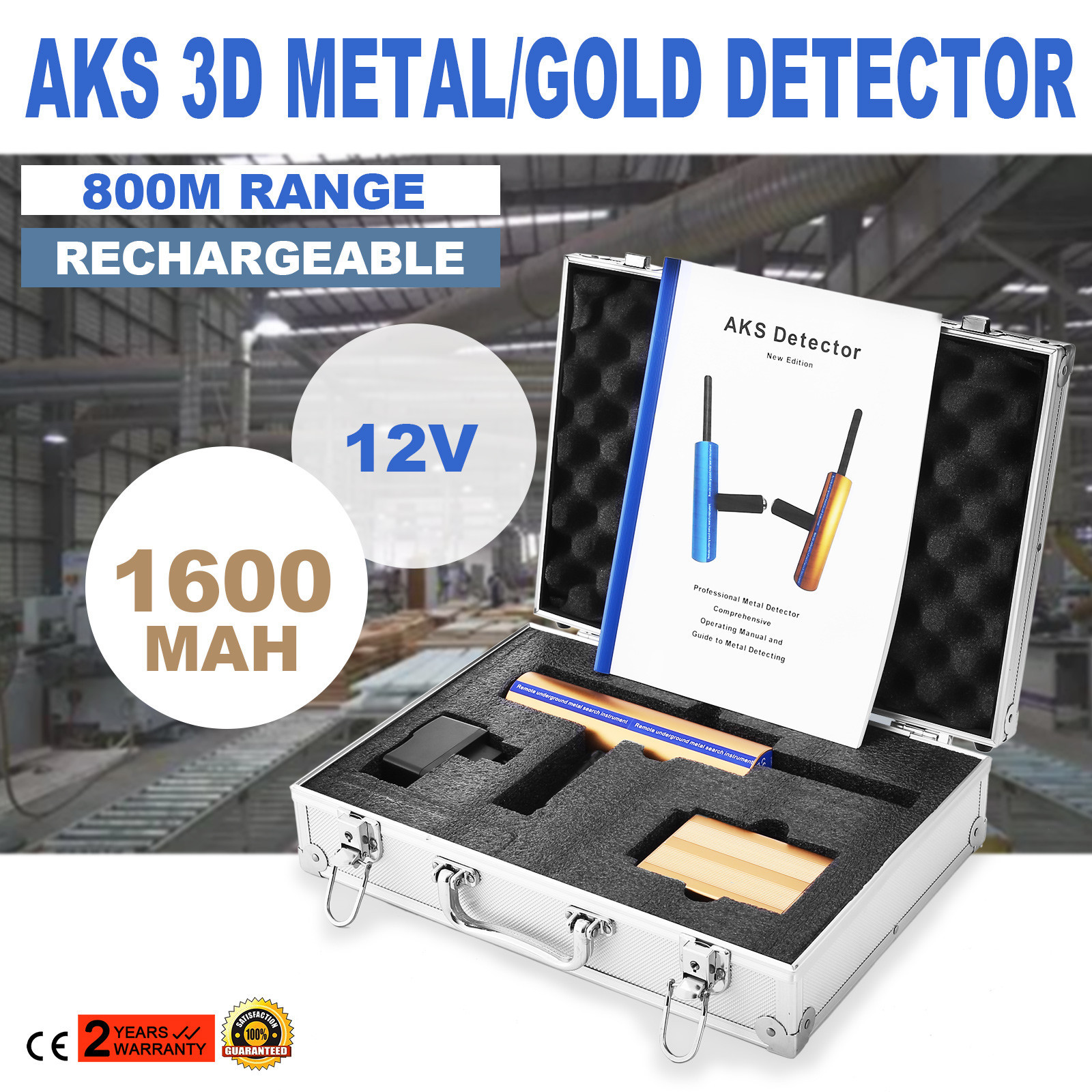 Pro Aks 3d Metal Gold Detector Long Range Diamond 800m Circuits Also Bat Schematic In Addition Professional Multi Function 2016v Finder Hunter Watch This Item Email A Friend