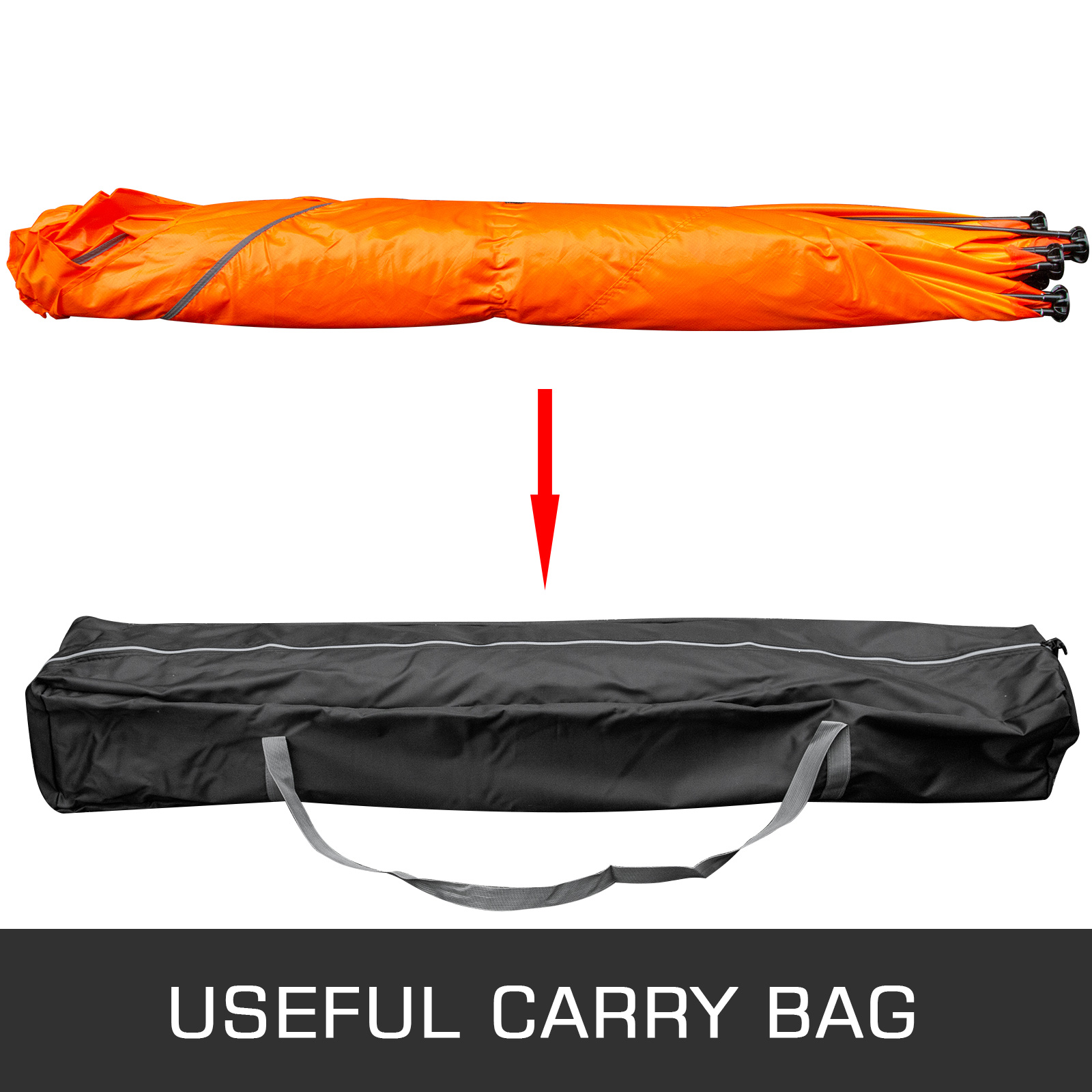 Ice Shelter Fishing Tent 4-person Accessories Room Stability Waterproof W// Bag