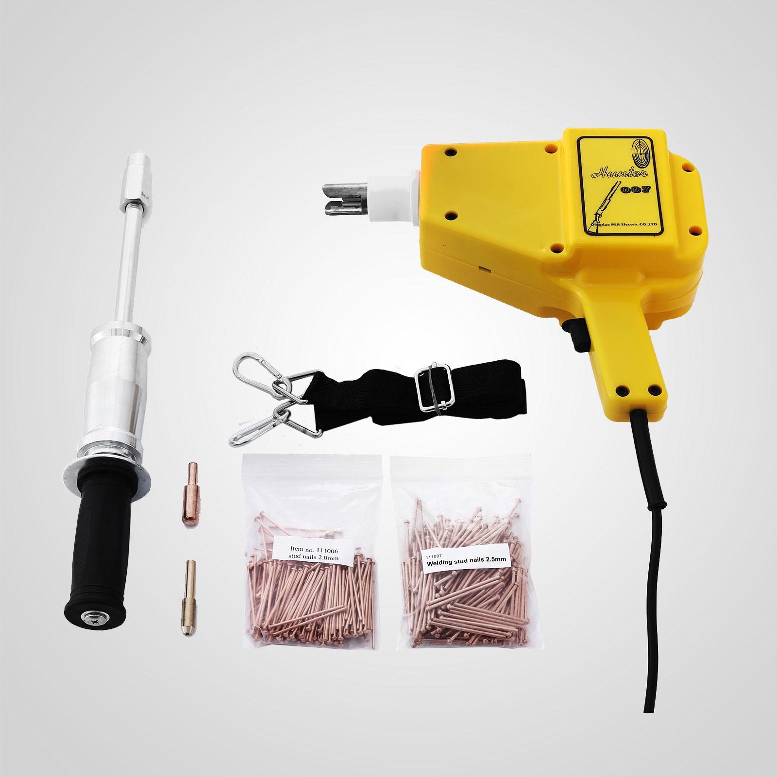 stud welder dent puller kit for car repair nails slide