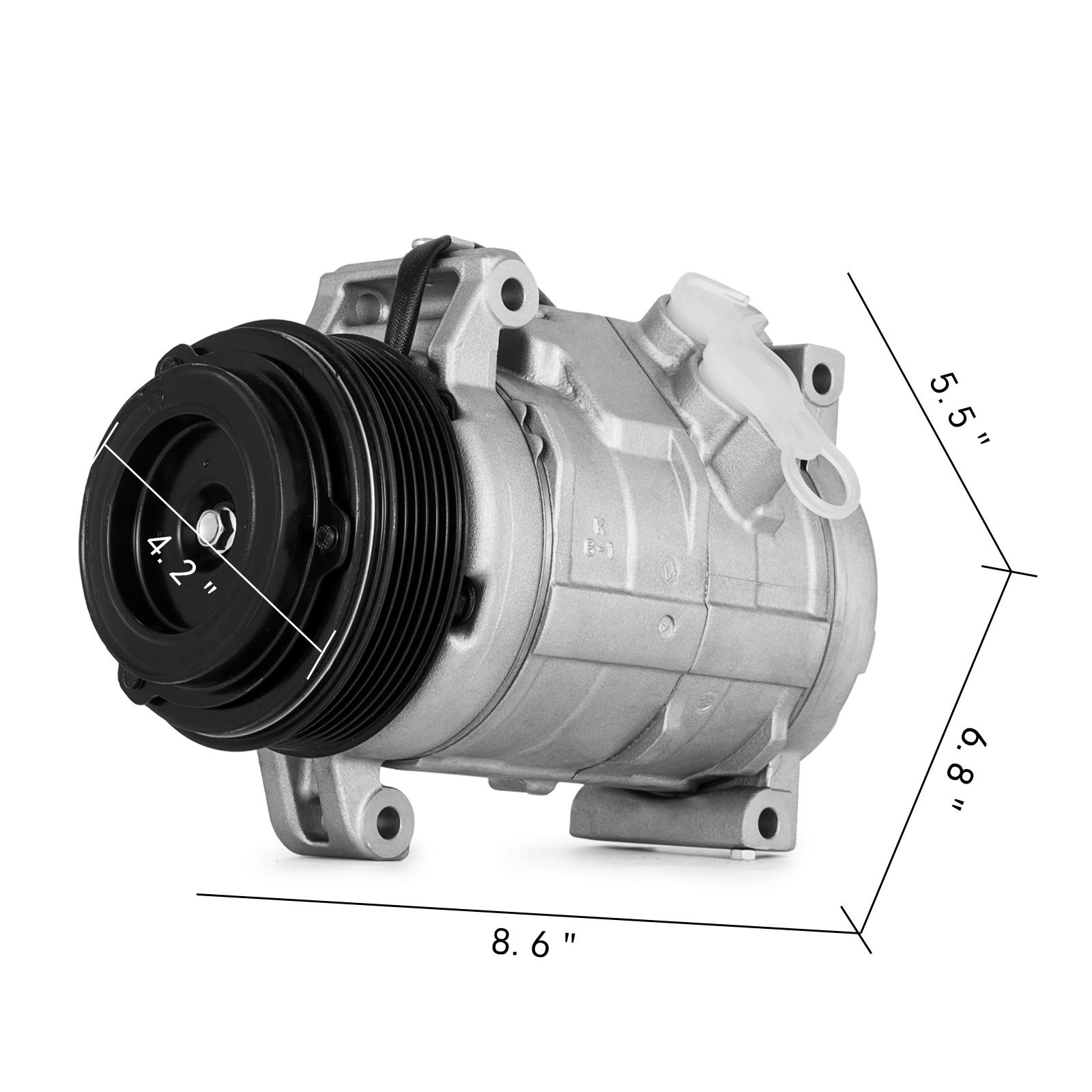 2008 Gmc Acadia Ac Compressor: A/C Compressor W/ Clutch Fit 15926085 Acadia Traverse
