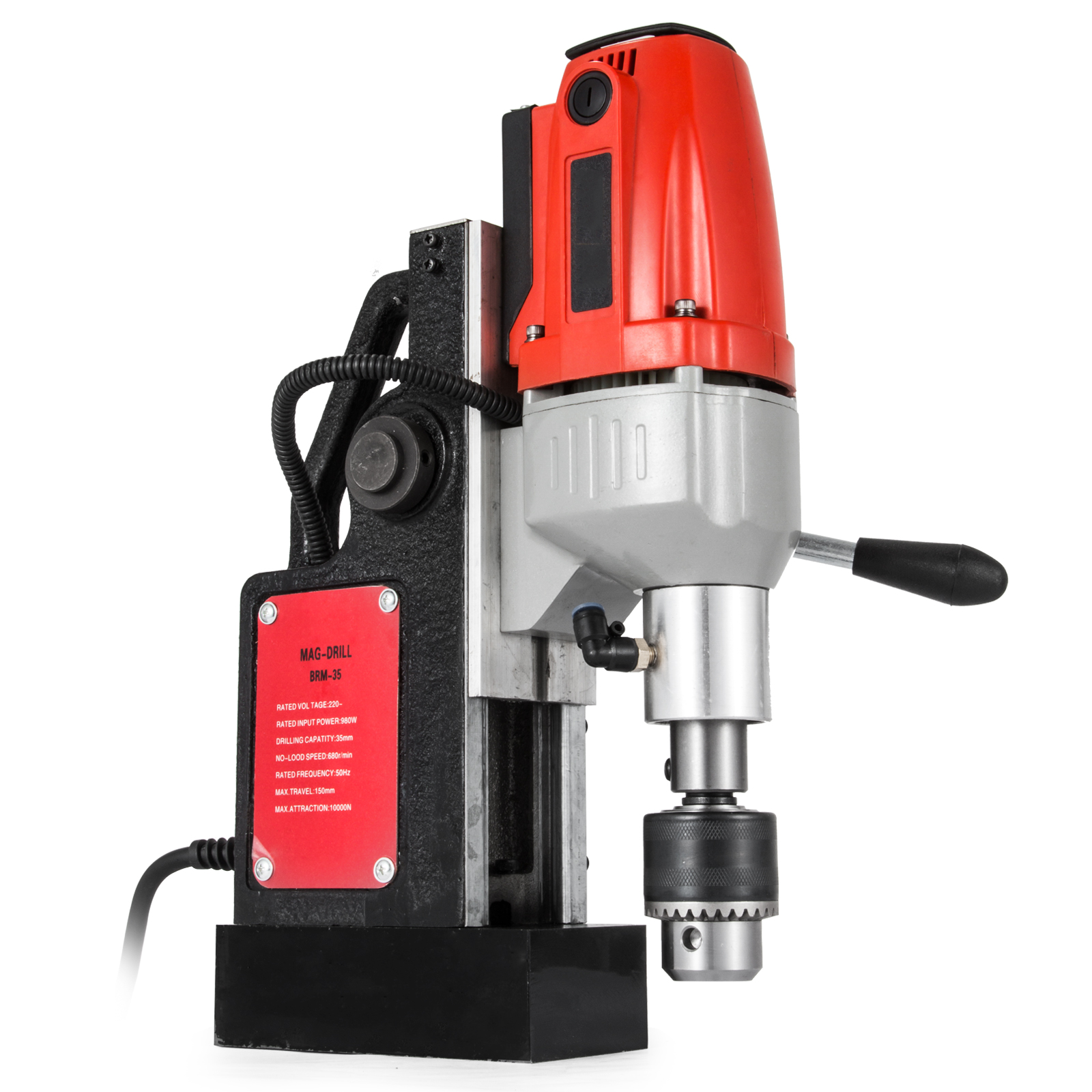 MB23-BRM35-MD40-Trapano-Perforatrice-Carotatore-Fresa-Magnetico-12-40mm-230V miniatura 68