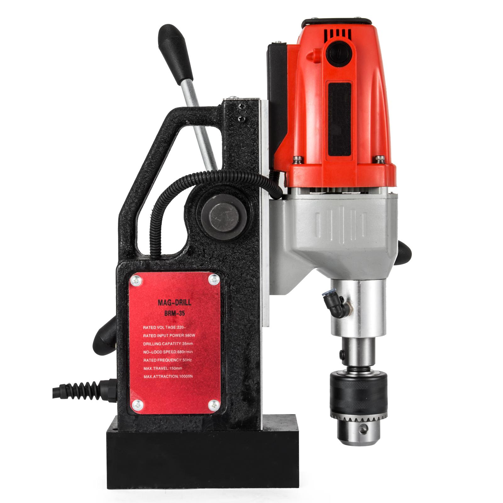 MB23-BRM35-MD40-Trapano-Perforatrice-Carotatore-Fresa-Magnetico-12-40mm-230V miniatura 69