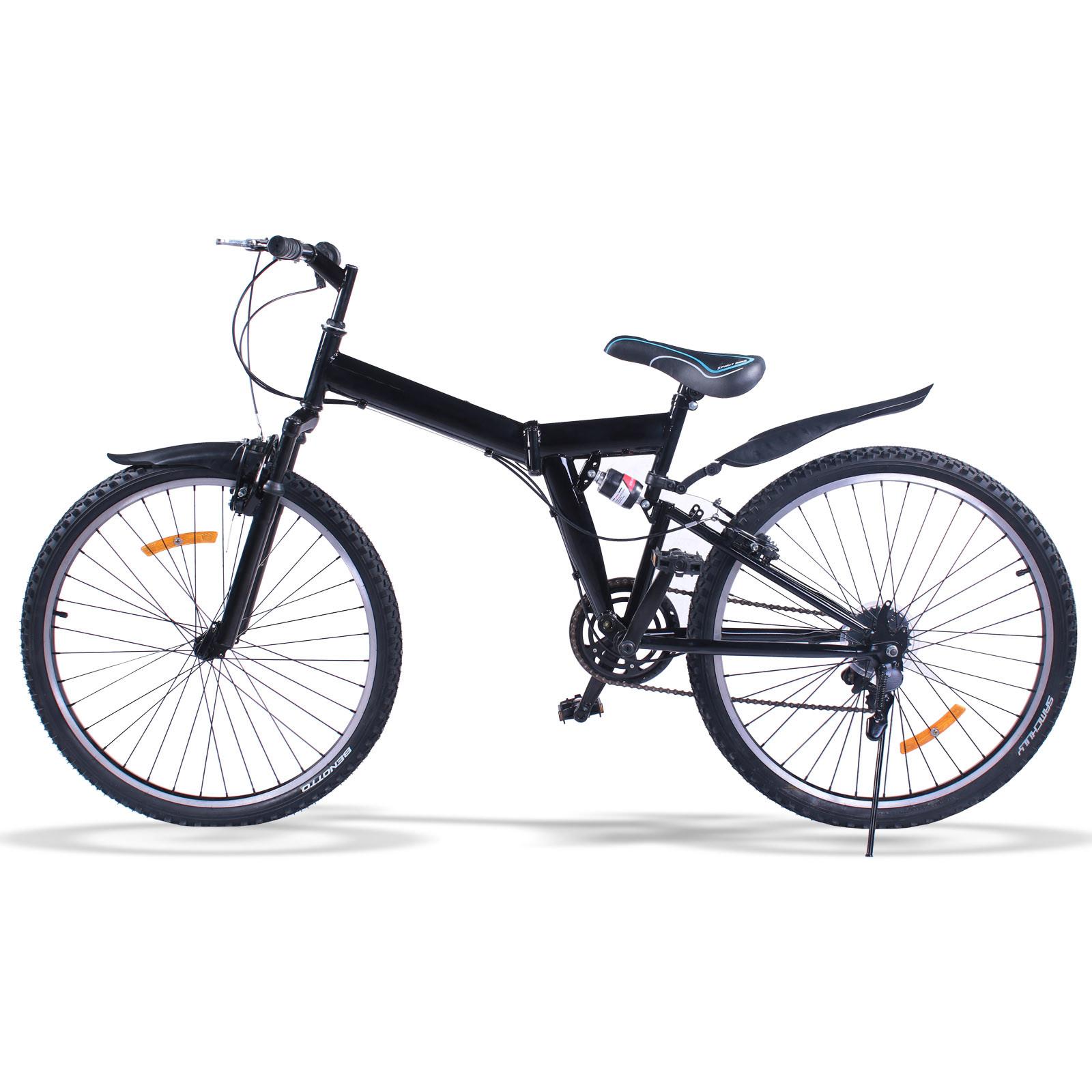 vtt 26 mountainbike 6 vitesse v lo pliant shimano adulte frein disque ebay. Black Bedroom Furniture Sets. Home Design Ideas