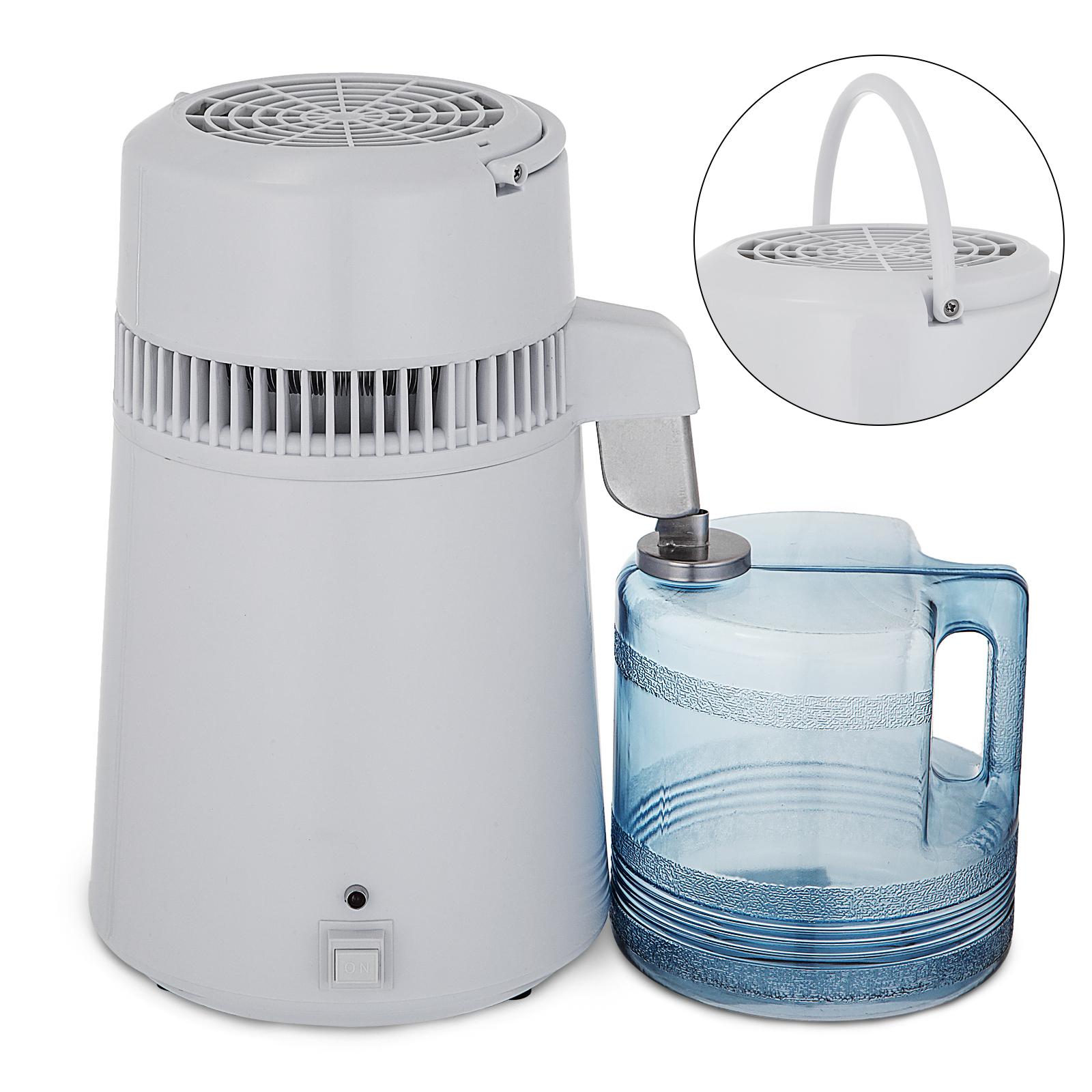 750W-4L-Wasser-Destilliergeraet-Water-Distiller-Einmachglas-Wasserflasche-Zuhause Indexbild 15