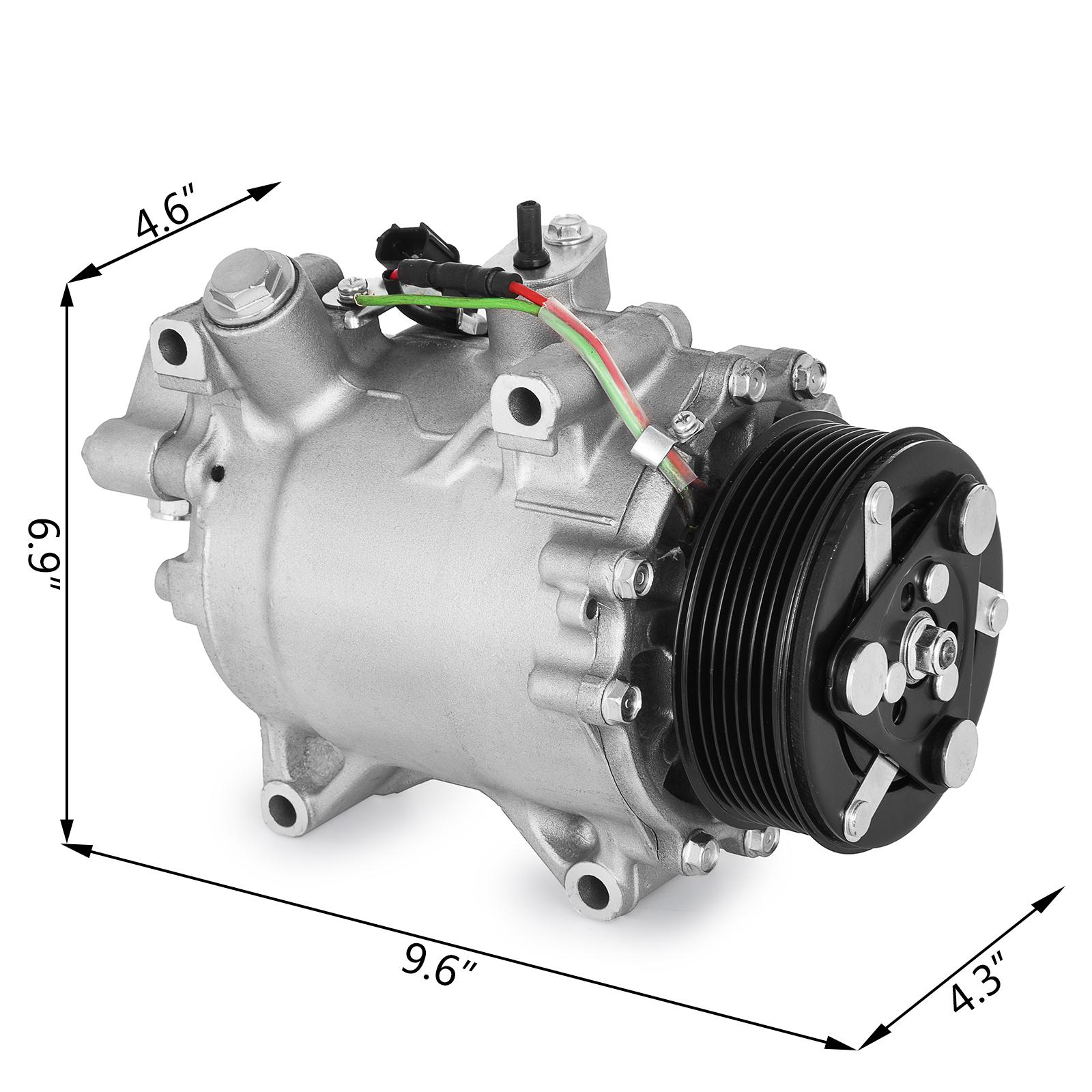 AC Compressor For 2007-2015 Fit Honda CRV 2.4L CO 4920AC