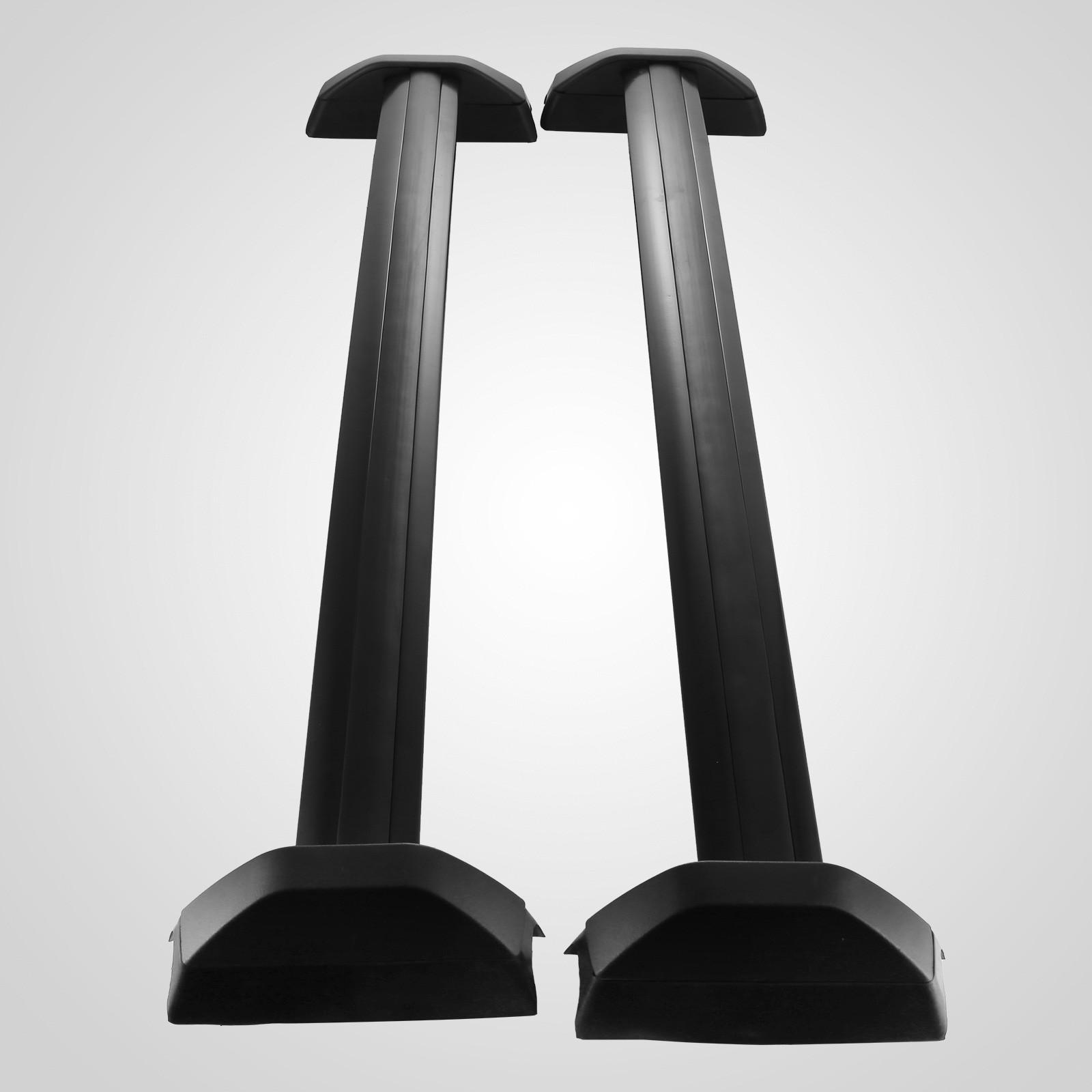 honda crv roof rack cross bar black luggage carrier set ebay