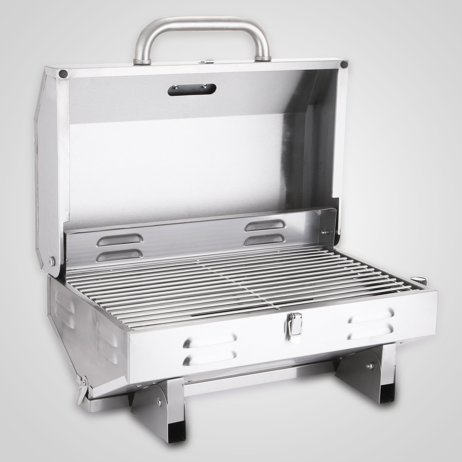 portable bbq gas stainless steel grill marine boat grade barbecue oven 220v 9315280429917 ebay. Black Bedroom Furniture Sets. Home Design Ideas