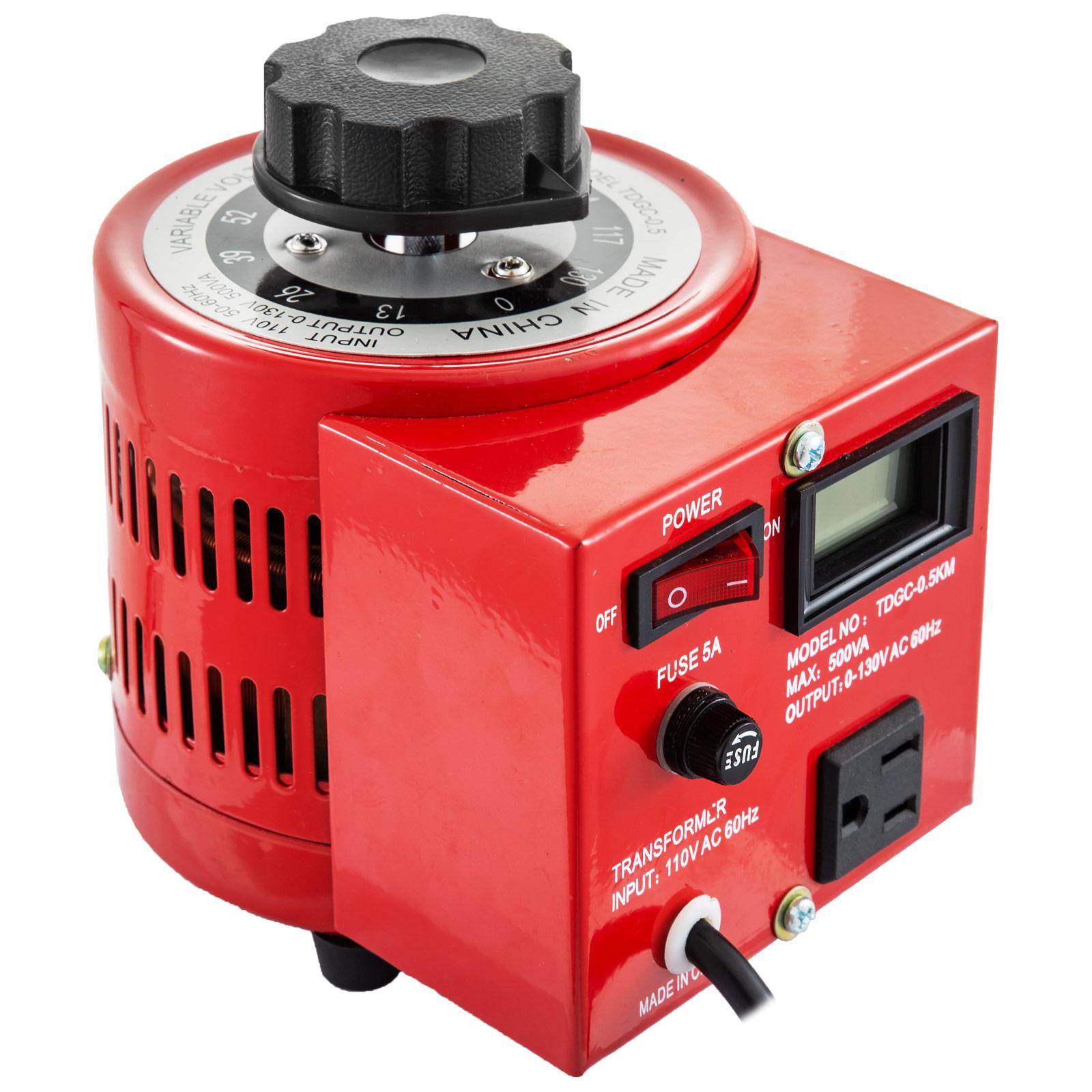 Variac-Variable-Transforme-0-5-1-2-3KVA-LCD-Single-Phase-Digital-Display-0-130V thumbnail 24