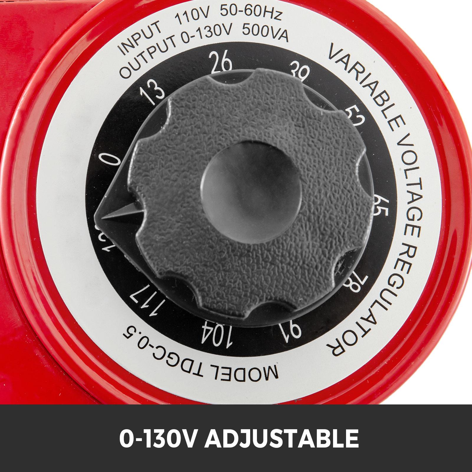Variac-Variable-Transforme-0-5-1-2-3KVA-LCD-Single-Phase-Digital-Display-0-130V thumbnail 15