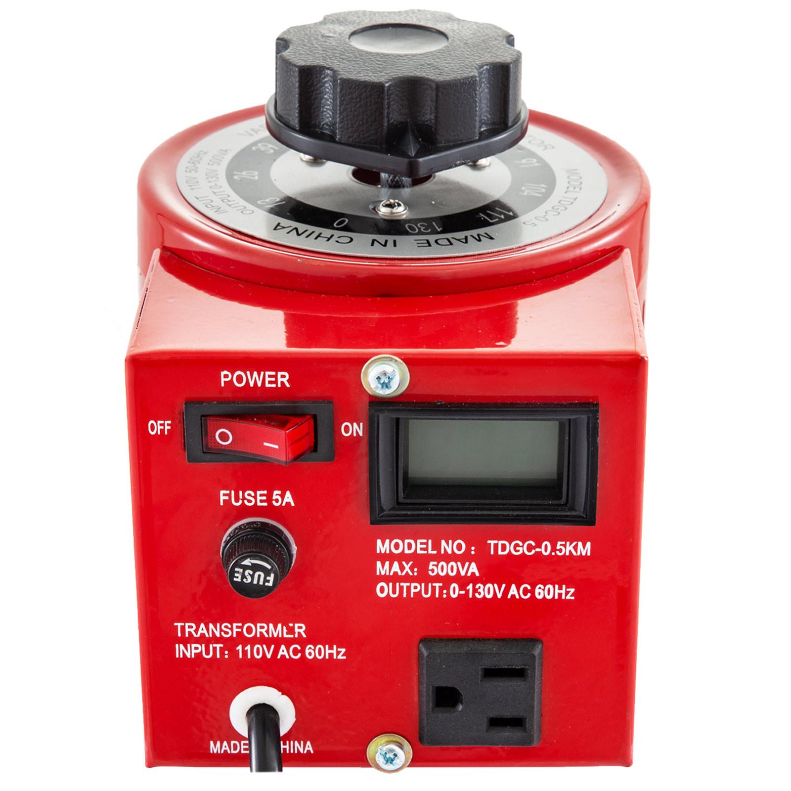 Variac-Variable-Transforme-0-5-1-2-3KVA-LCD-Single-Phase-Digital-Display-0-130V thumbnail 21