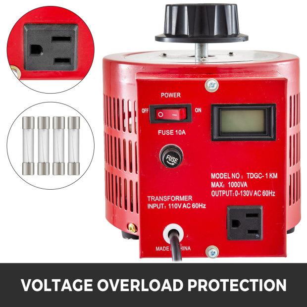 Variac-Variable-Transforme-0-5-1-2-3KVA-LCD-Single-Phase-Digital-Display-0-130V thumbnail 29