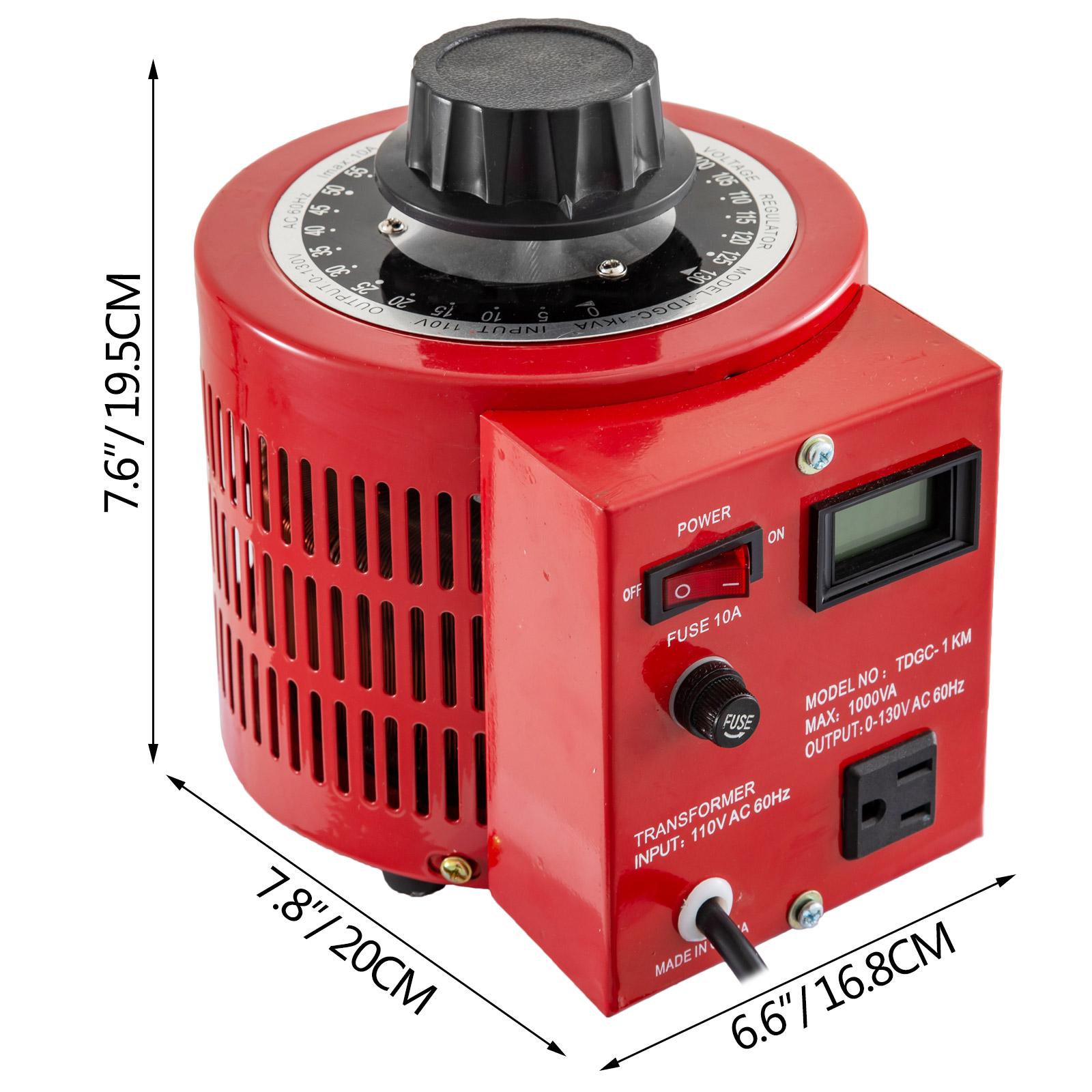 Variac-Variable-Transforme-0-5-1-2-3KVA-LCD-Single-Phase-Digital-Display-0-130V thumbnail 32