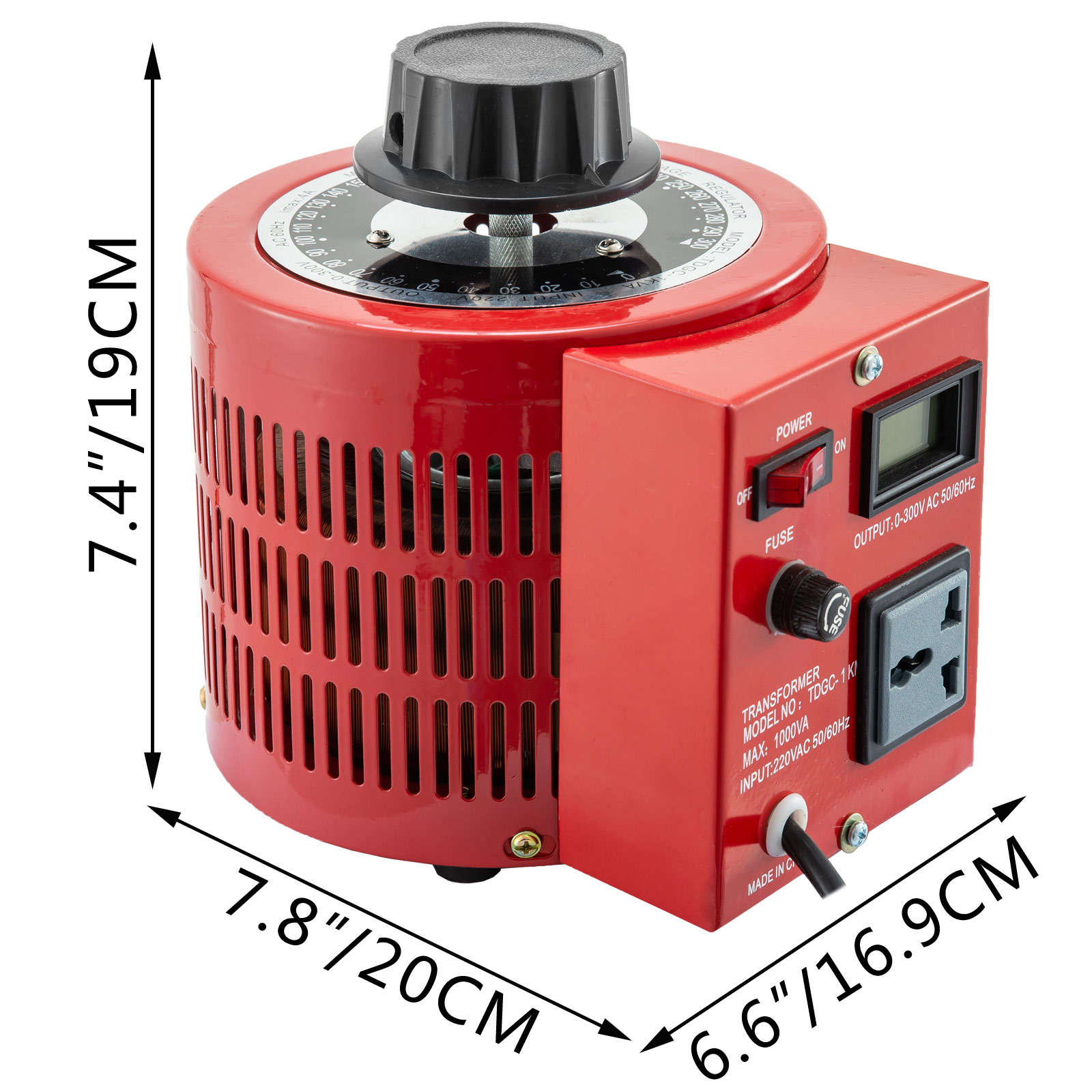 Auto-Variac-Variable-Transformer-0-5-1-2-3KVA-Regulator-pure-copper-coil-220V thumbnail 32