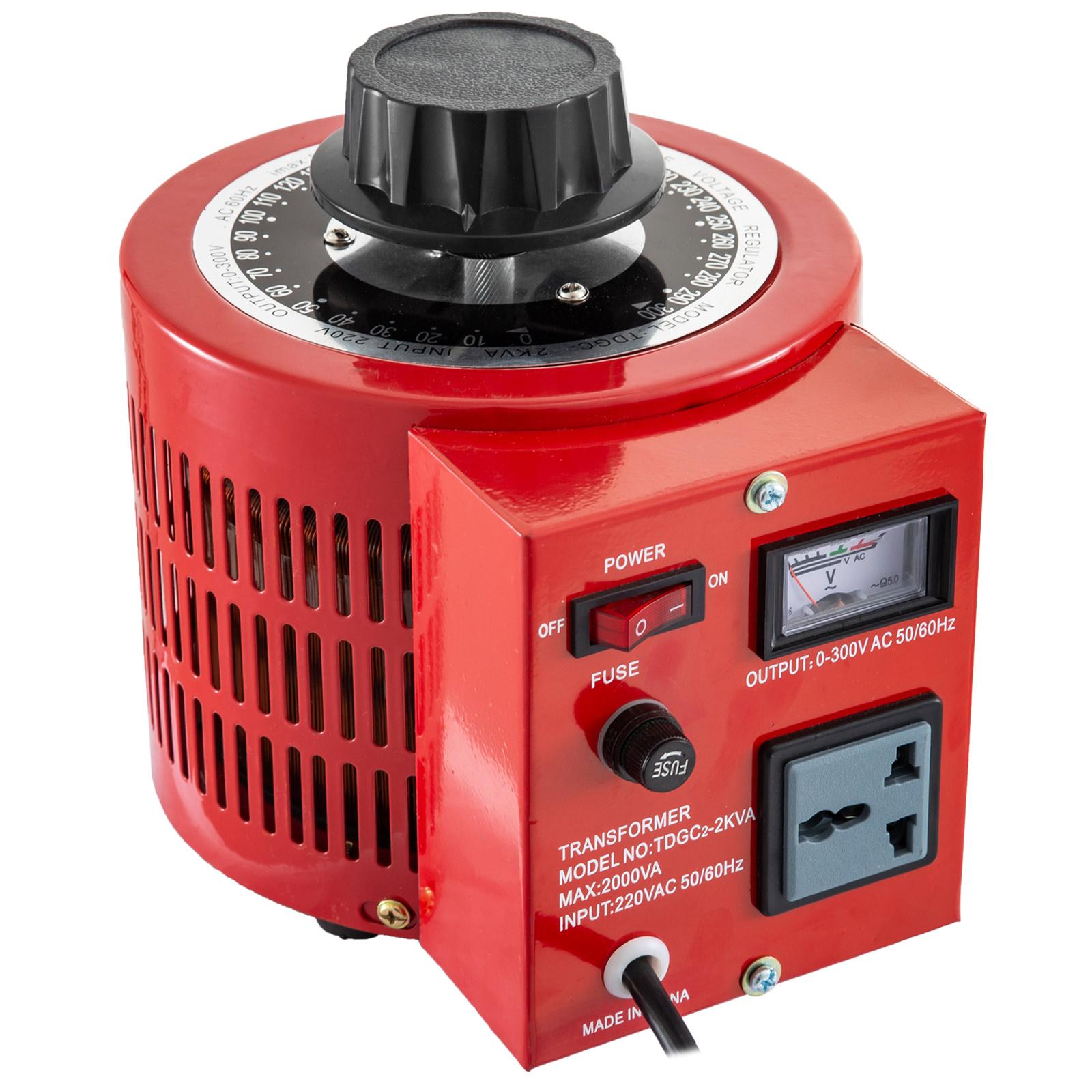 Auto-Variac-Variable-Transformer-0-5-1-2-3KVA-Regulator-pure-copper-coil-220V thumbnail 48