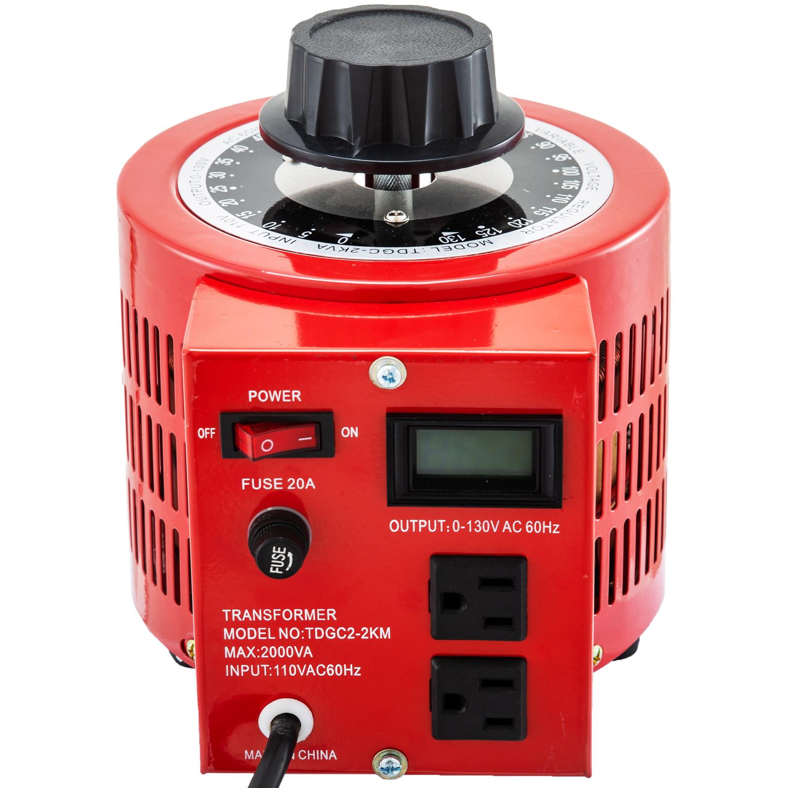 Variac-Variable-Transforme-0-5-1-2-3KVA-LCD-Single-Phase-Digital-Display-0-130V thumbnail 47