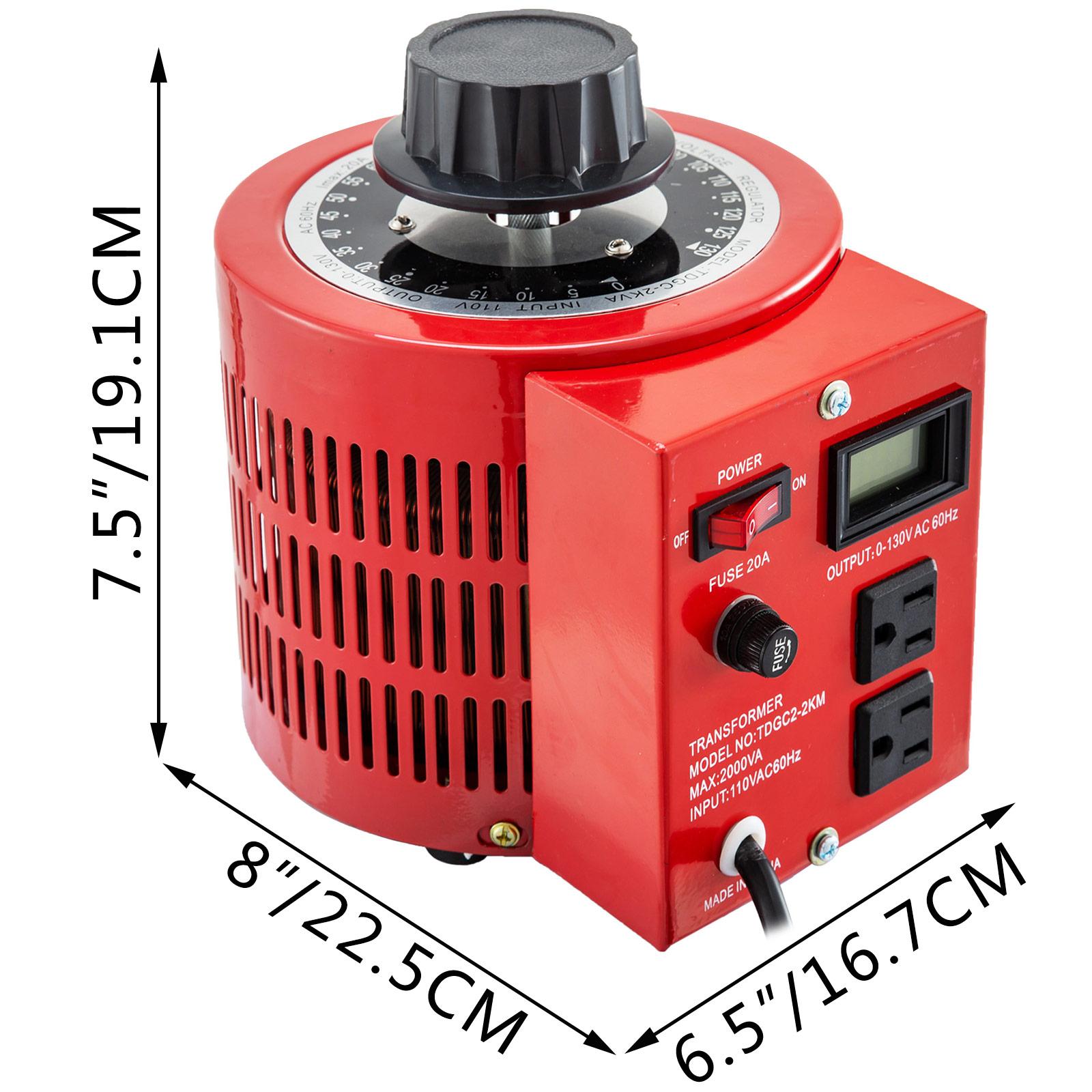 Variac-Variable-Transforme-0-5-1-2-3KVA-LCD-Single-Phase-Digital-Display-0-130V thumbnail 44
