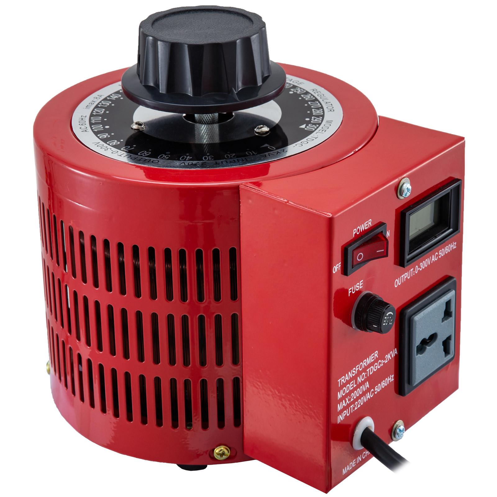 Auto-Variac-Variable-Transformer-0-5-1-2-3KVA-Regulator-pure-copper-coil-220V thumbnail 60