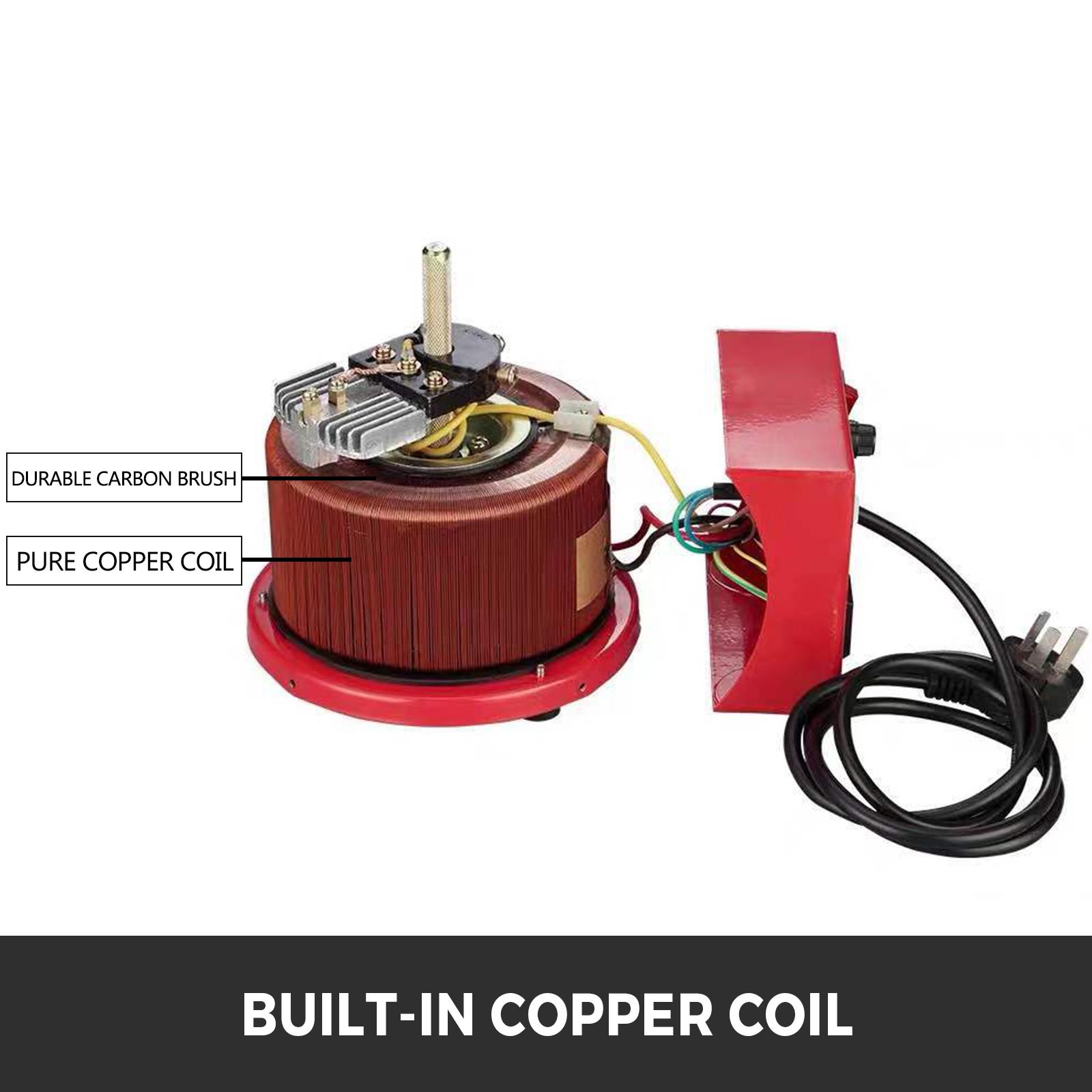 Auto-Variac-Variable-Transformer-0-5-1-2-3KVA-Regulator-pure-copper-coil-220V thumbnail 50
