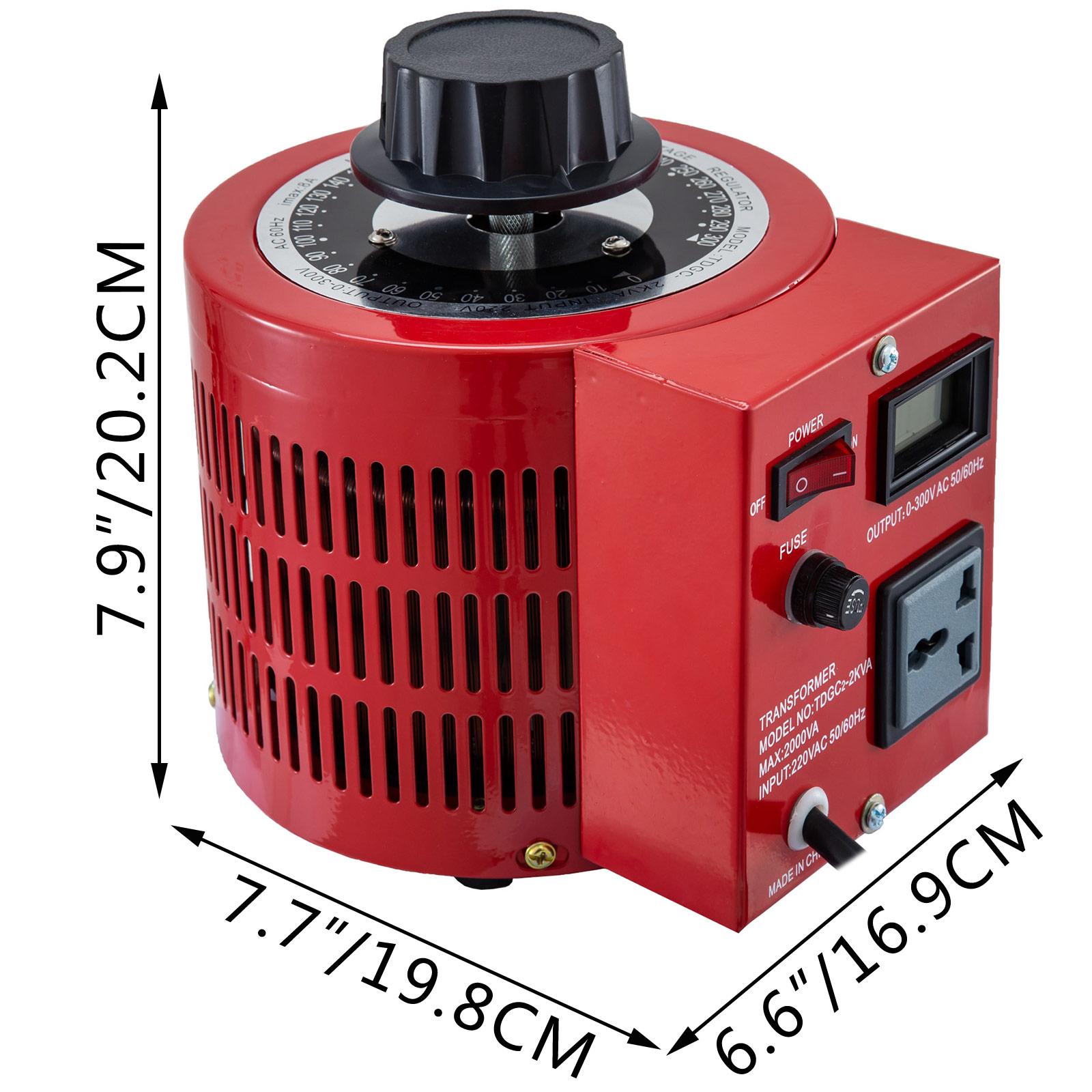 Auto-Variac-Variable-Transformer-0-5-1-2-3KVA-Regulator-pure-copper-coil-220V thumbnail 56