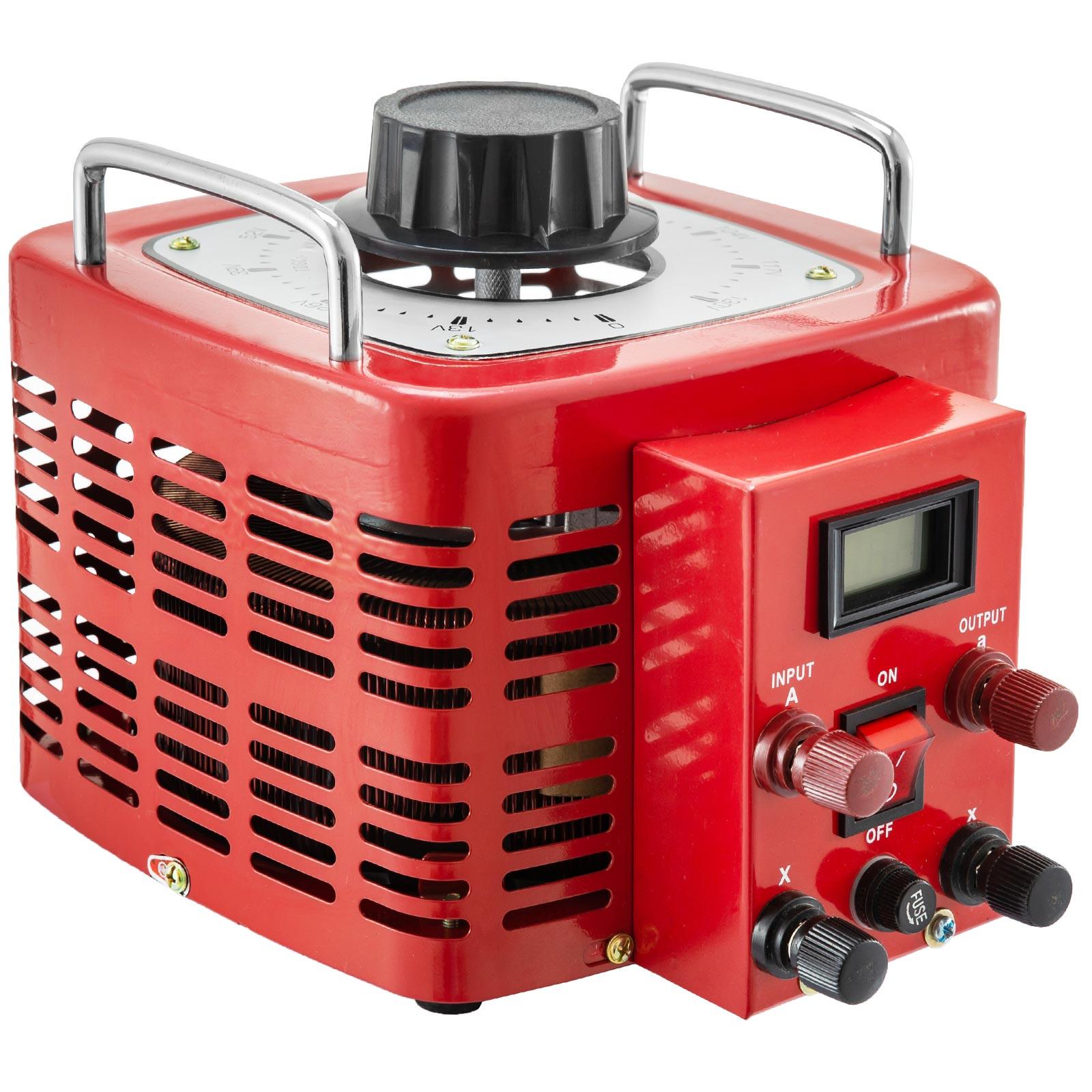 Variac-Variable-Transforme-0-5-1-2-3KVA-LCD-Single-Phase-Digital-Display-0-130V thumbnail 60