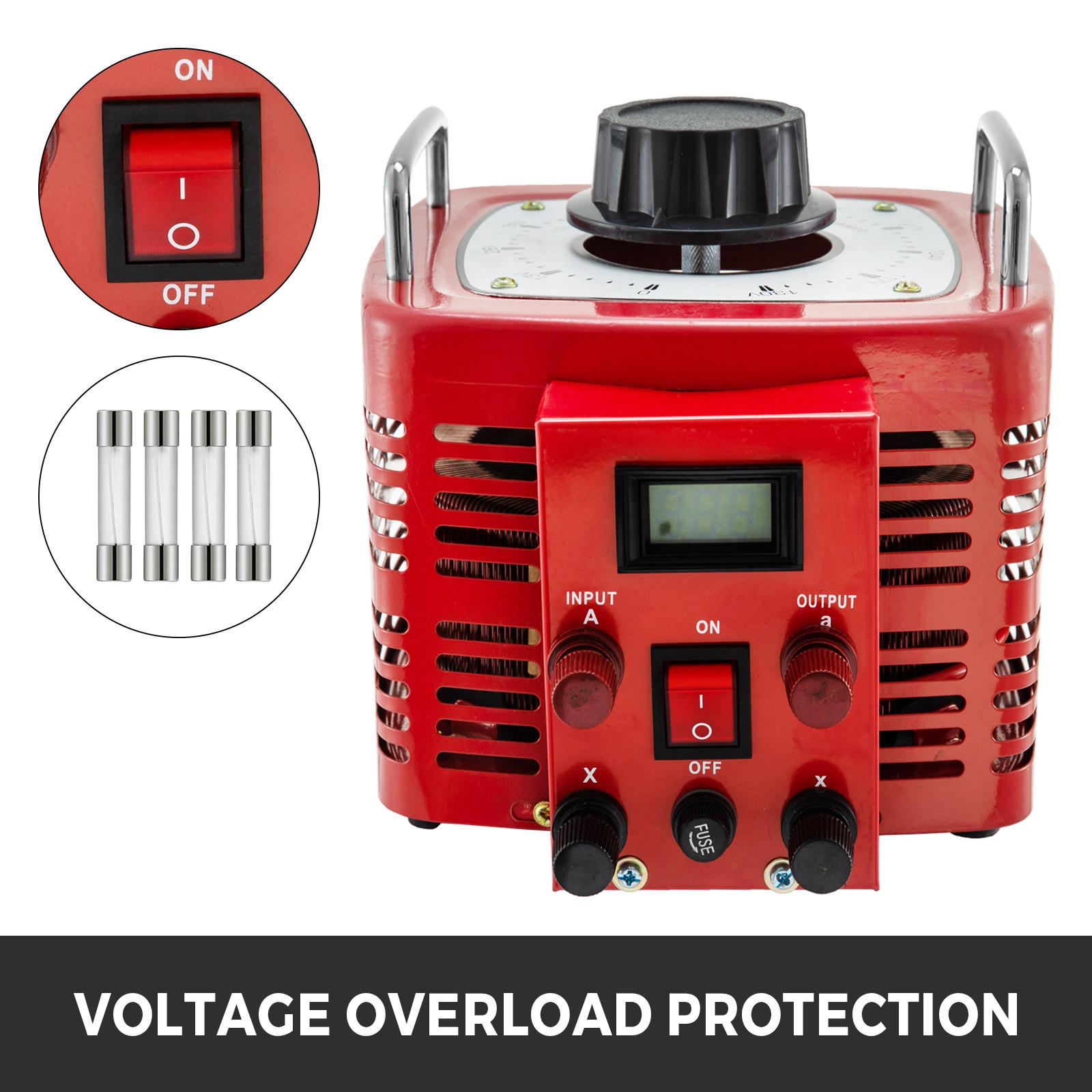 Variac-Variable-Transforme-0-5-1-2-3KVA-LCD-Single-Phase-Digital-Display-0-130V thumbnail 54