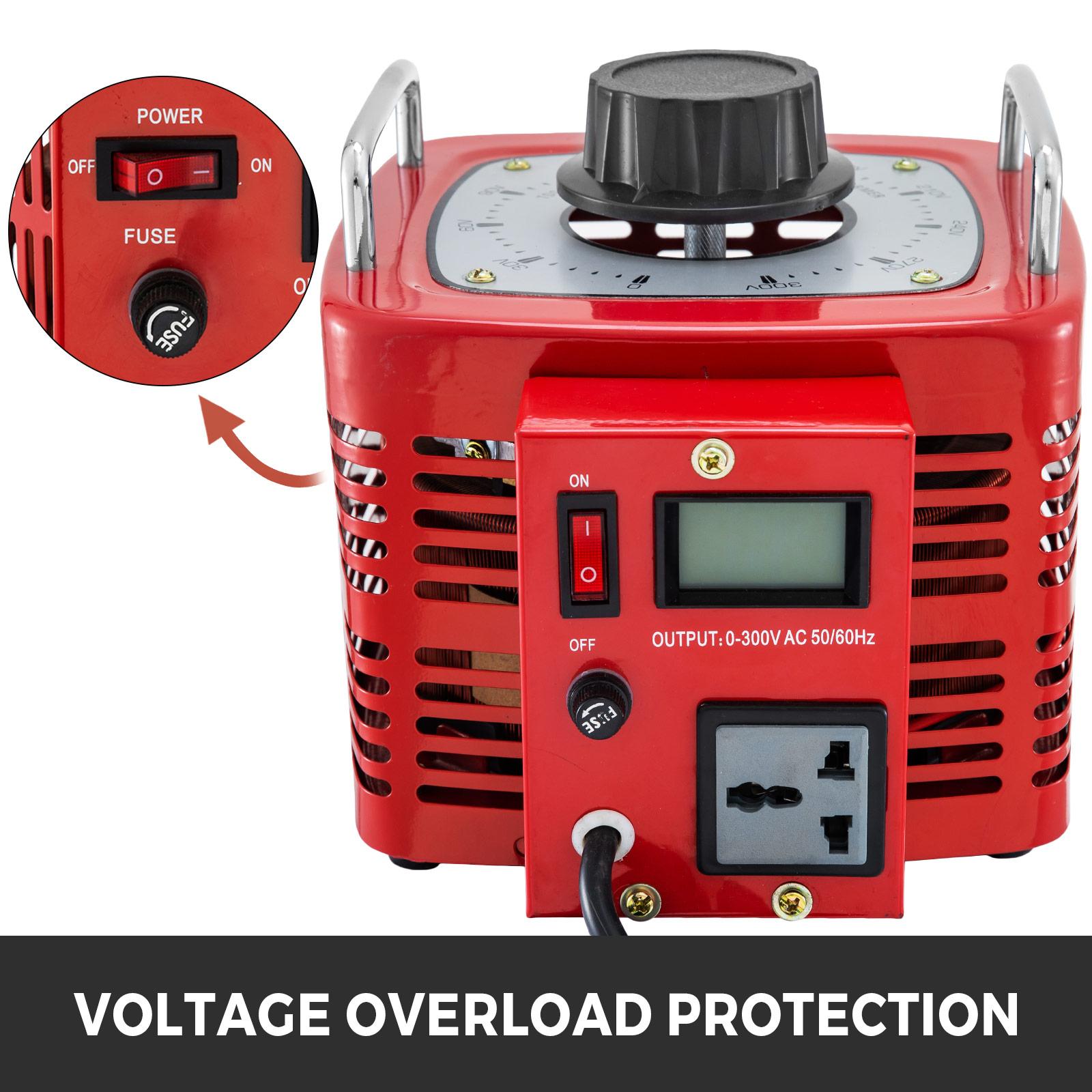 Auto-Variac-Variable-Transformer-0-5-1-2-3KVA-Regulator-pure-copper-coil-220V thumbnail 66