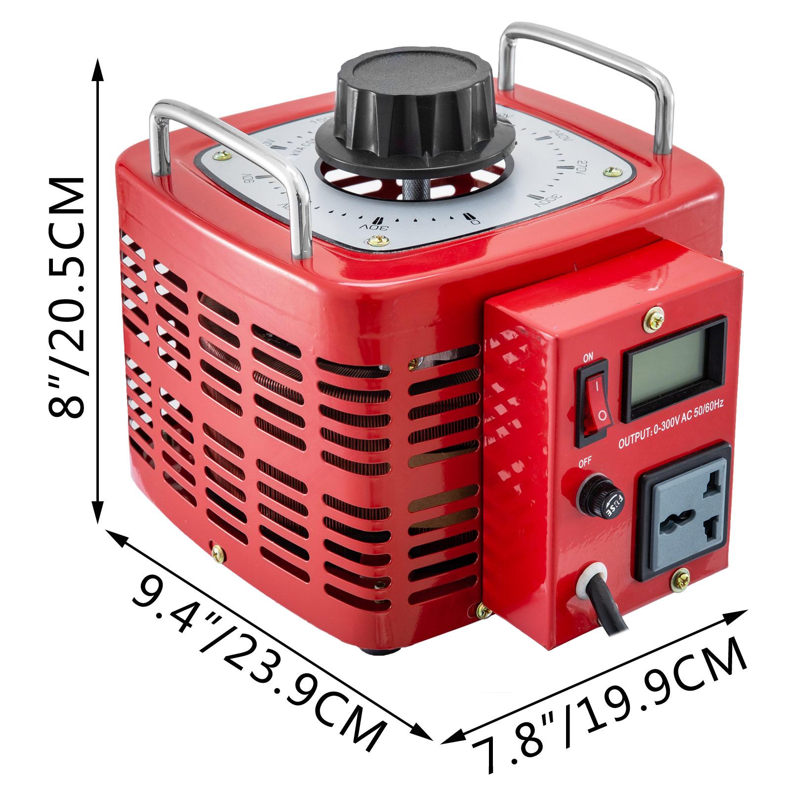 Auto-Variac-Variable-Transformer-0-5-1-2-3KVA-Regulator-pure-copper-coil-220V thumbnail 68