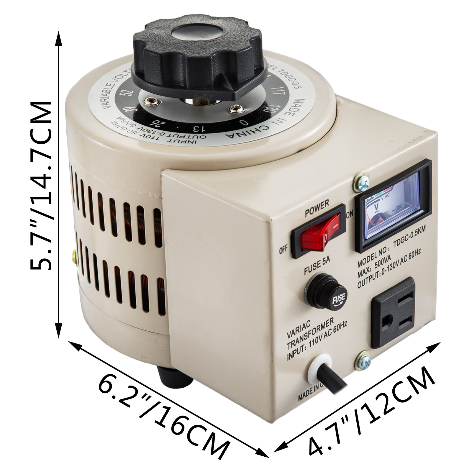 0-5-1-2-3KVA-Variac-Variable-Transformer-0-130V-AC-Voltage-Regulator-5-10-20-30A miniature 68