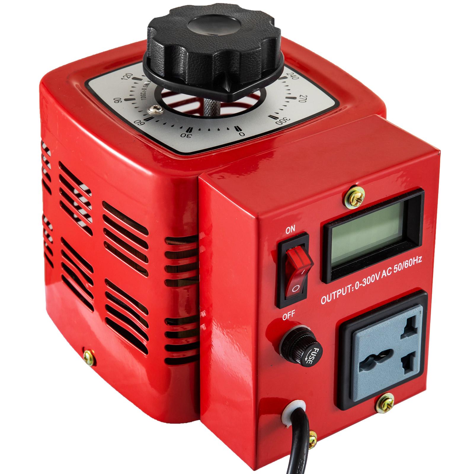 Auto-Variac-Variable-Transformer-0-5-1-2-3KVA-Regulator-pure-copper-coil-220V thumbnail 24