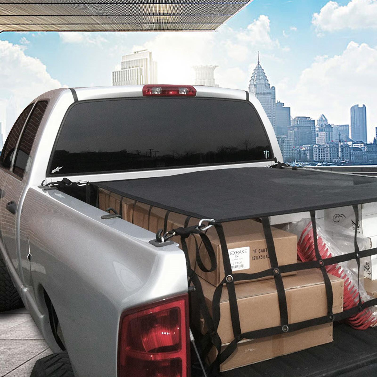 """66/"""" x 50/"""" Truck Bed Cargo Net 500kg//1100lb Truck Cargo Net Reinforced"""