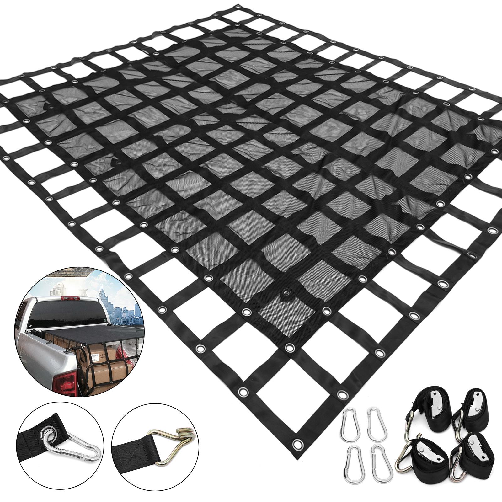 Truck Bed Cargo Net >> Truck Bed Cargo Net 6 7x5 4ft Truck Cargo Net Trailers Pickup Trucks