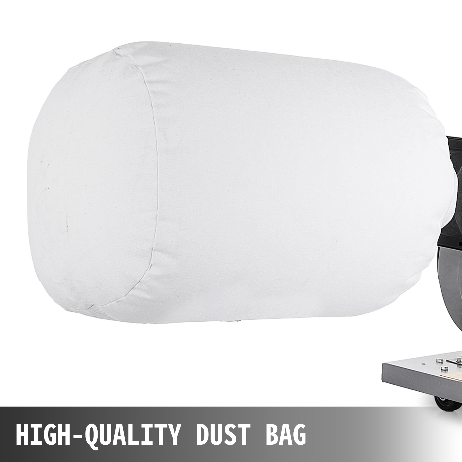 Dust Collector 1HP Optional Wall Mount w// 15 Gallon 30 Micron Bag 537 CFM