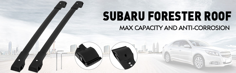 For Subaru Forester 2014 2019 Top Luggage Carrier Roof