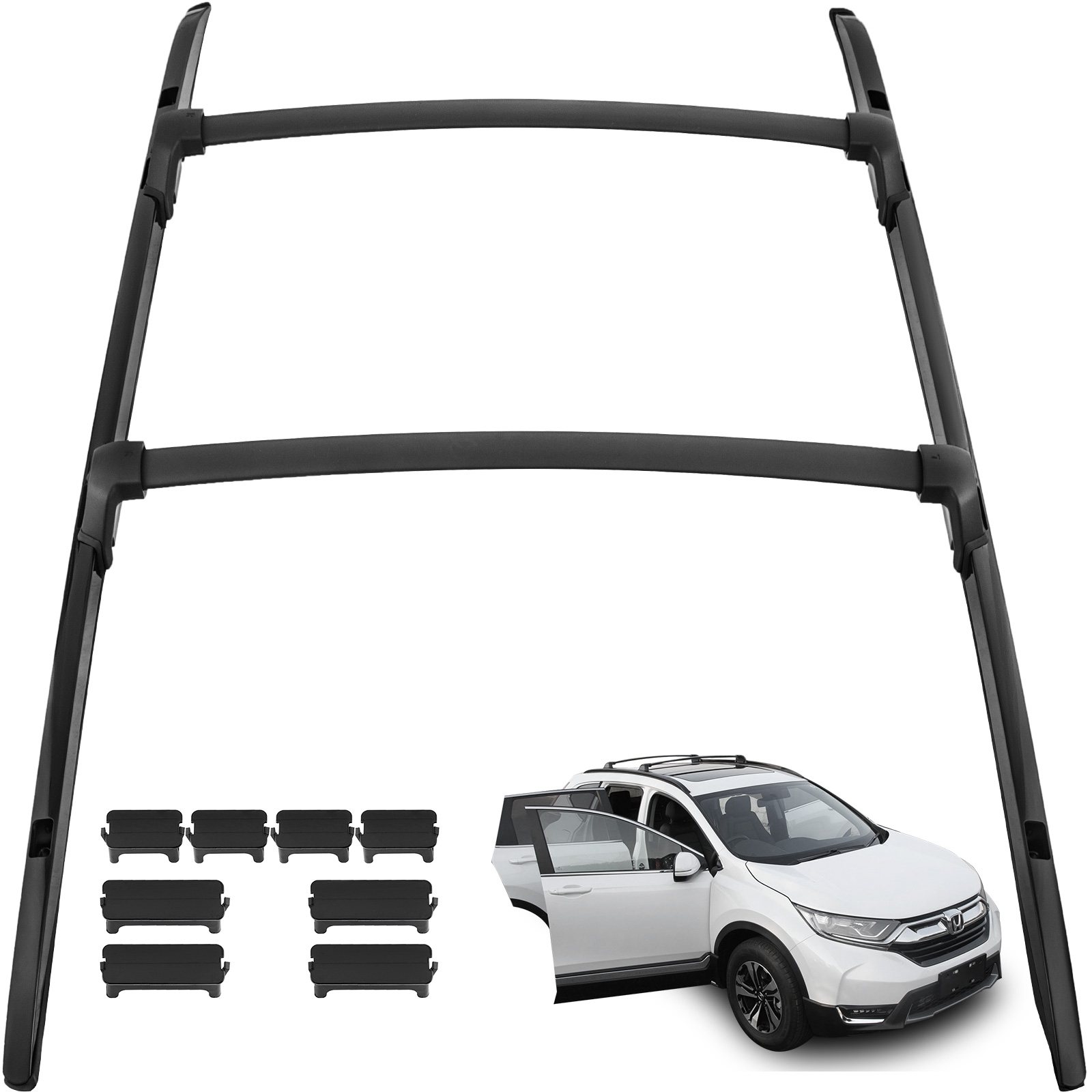 Fit For Acura RDX 2012-2017 Roof Rack Cargo Side Rails