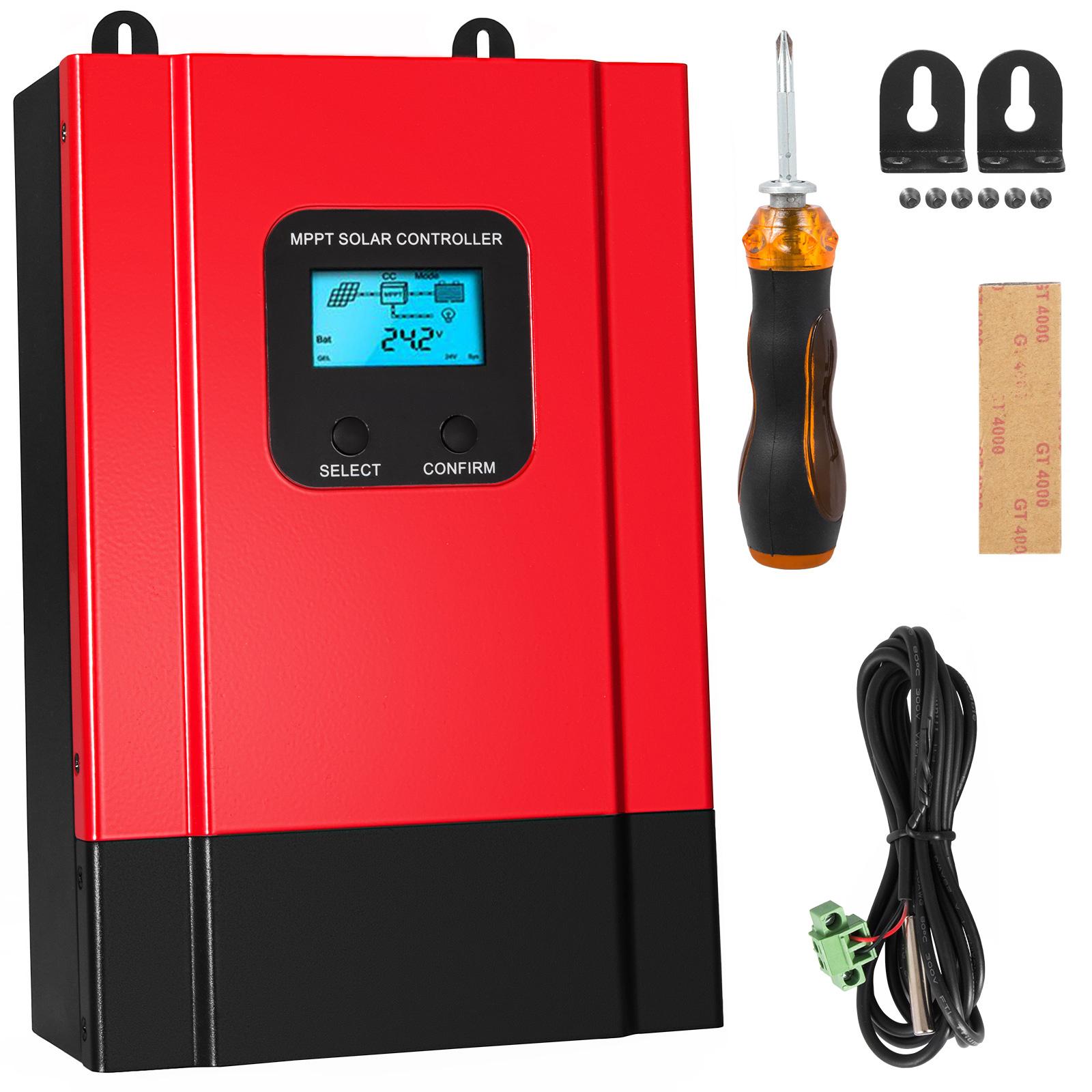 ESMART-3-LCD-40a-50a-60a-12v-24v-36v-48v-MPPT-Solar-Charge-Controller-Regolatore-di-carica miniatura 61