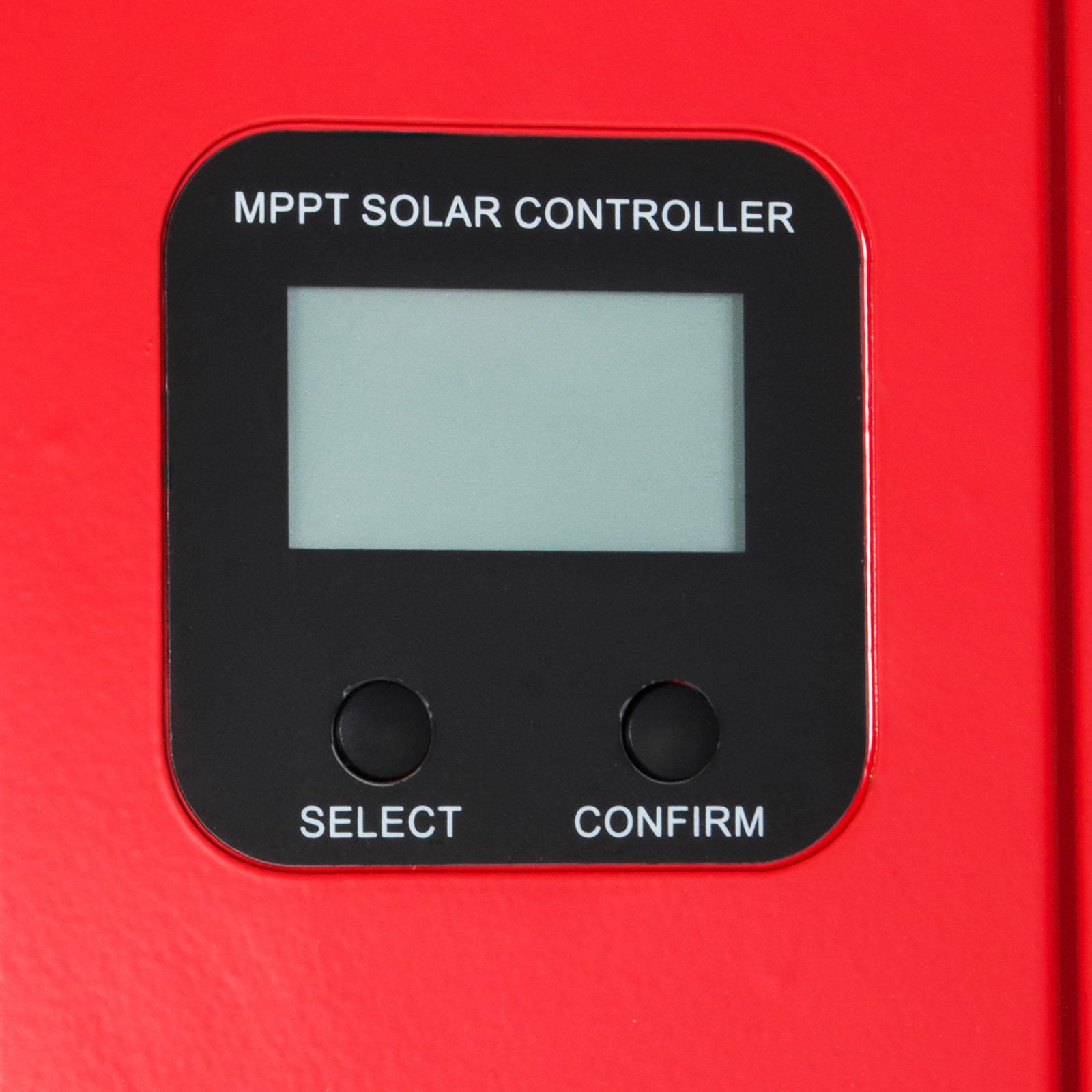 ESMART-3-LCD-40a-50a-60a-12v-24v-36v-48v-MPPT-Solar-Charge-Controller-Regolatore-di-carica miniatura 70