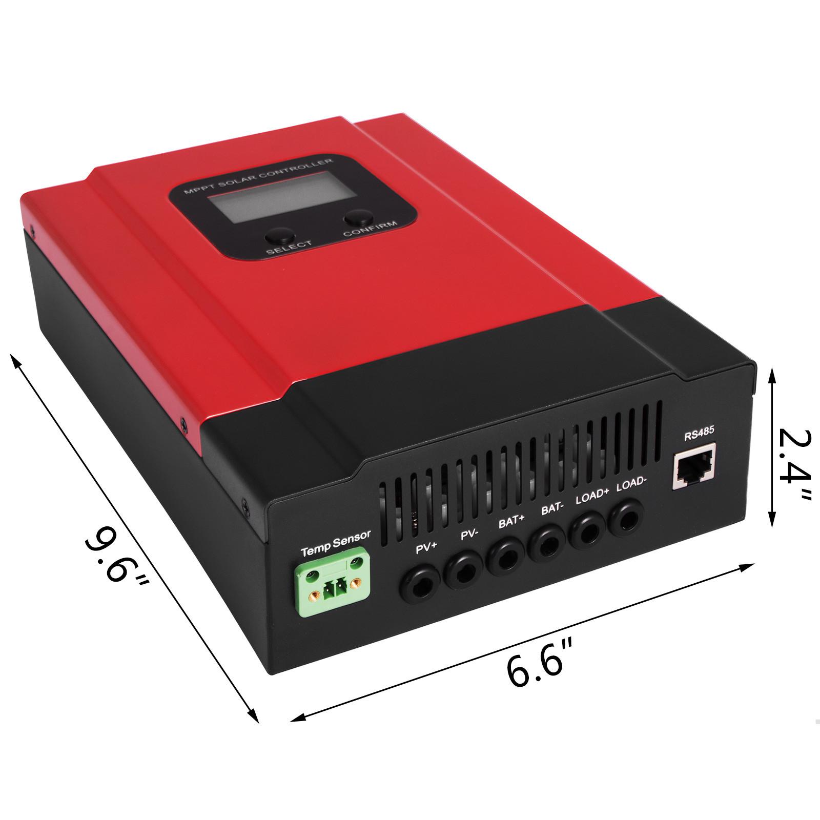 ESMART-3-LCD-40a-50a-60a-12v-24v-36v-48v-MPPT-Solar-Charge-Controller-Regolatore-di-carica miniatura 62