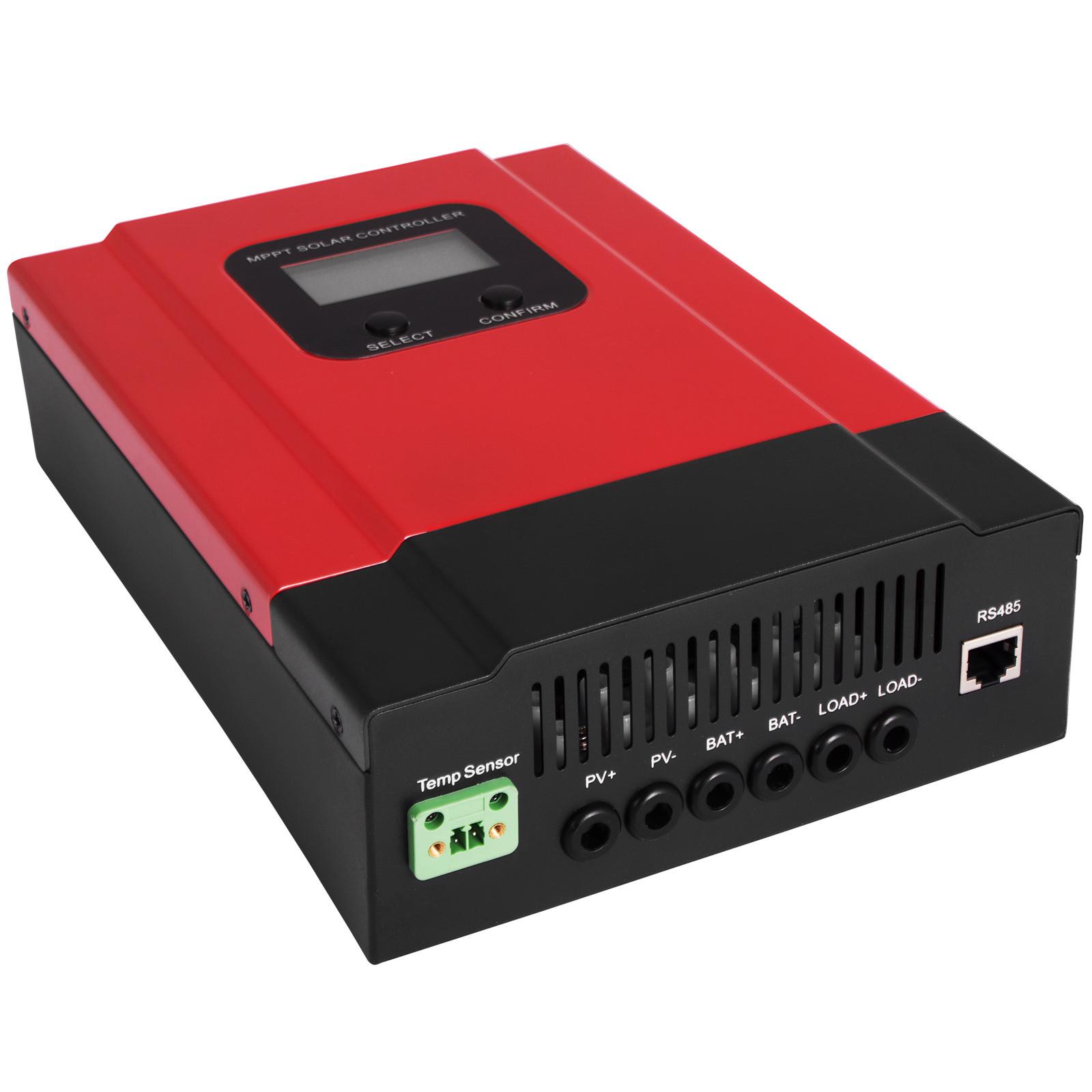 ESMART-3-LCD-40a-50a-60a-12v-24v-36v-48v-MPPT-Solar-Charge-Controller-Regolatore-di-carica miniatura 64