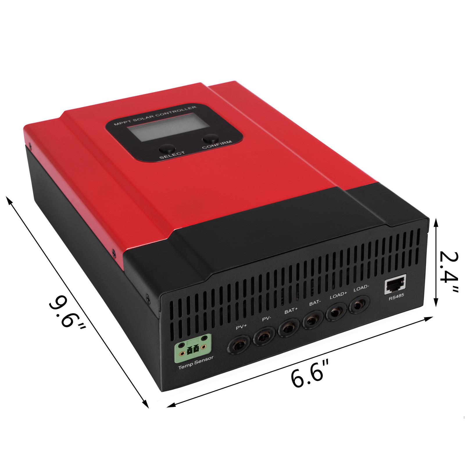 ESMART-3-LCD-40a-50a-60a-12v-24v-36v-48v-MPPT-Solar-Charge-Controller-Regolatore-di-carica miniatura 50