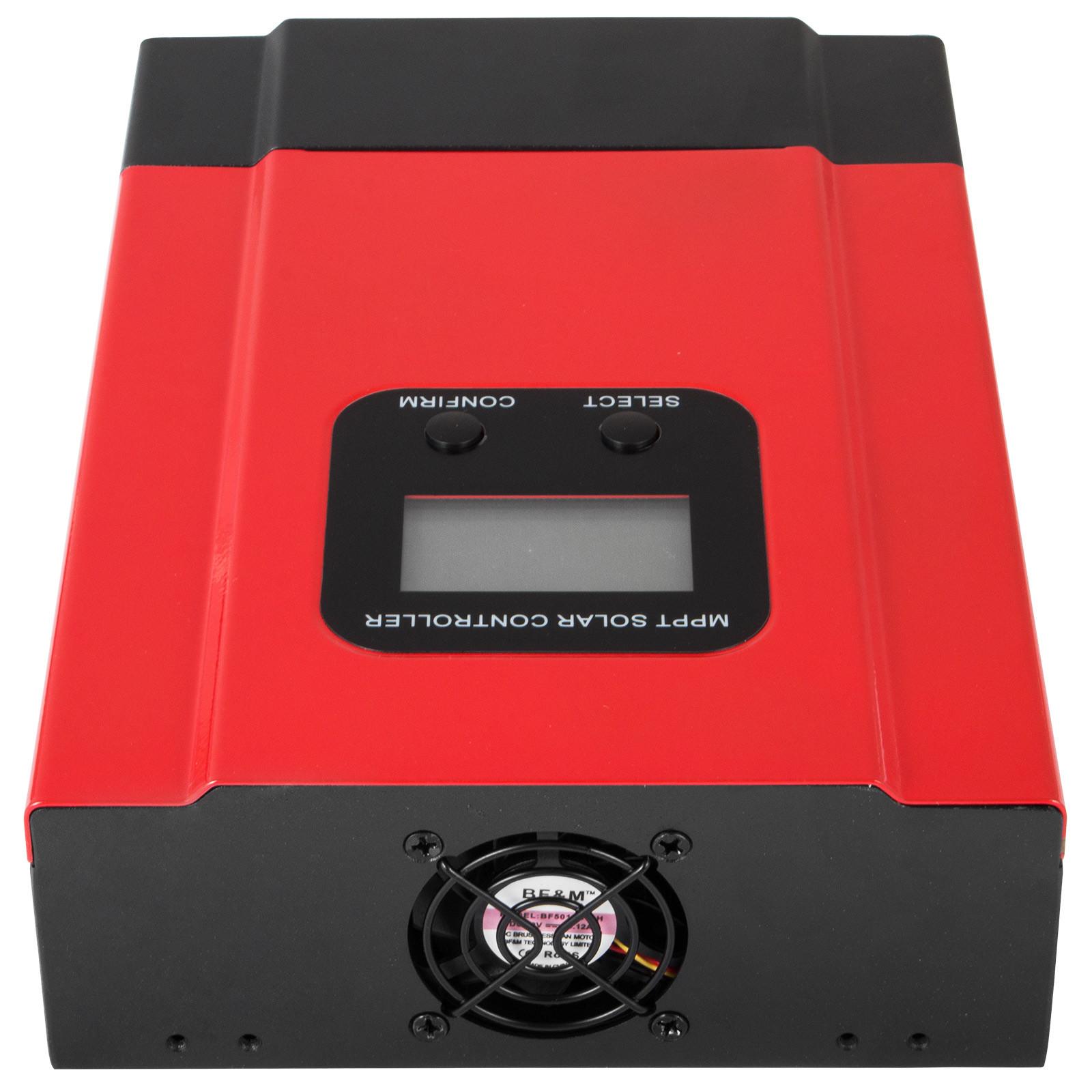 ESMART-3-LCD-40a-50a-60a-12v-24v-36v-48v-MPPT-Solar-Charge-Controller-Regolatore-di-carica miniatura 51