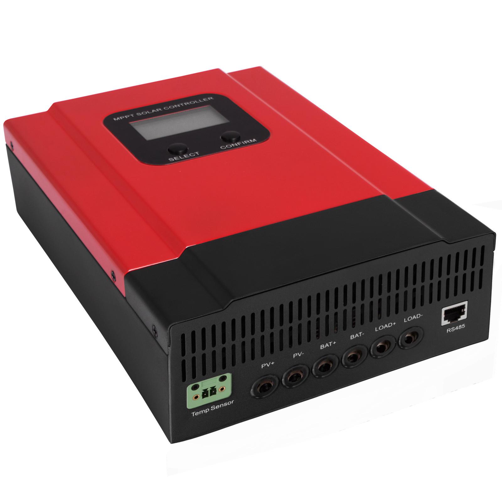 ESMART-3-LCD-40a-50a-60a-12v-24v-36v-48v-MPPT-Solar-Charge-Controller-Regolatore-di-carica miniatura 52