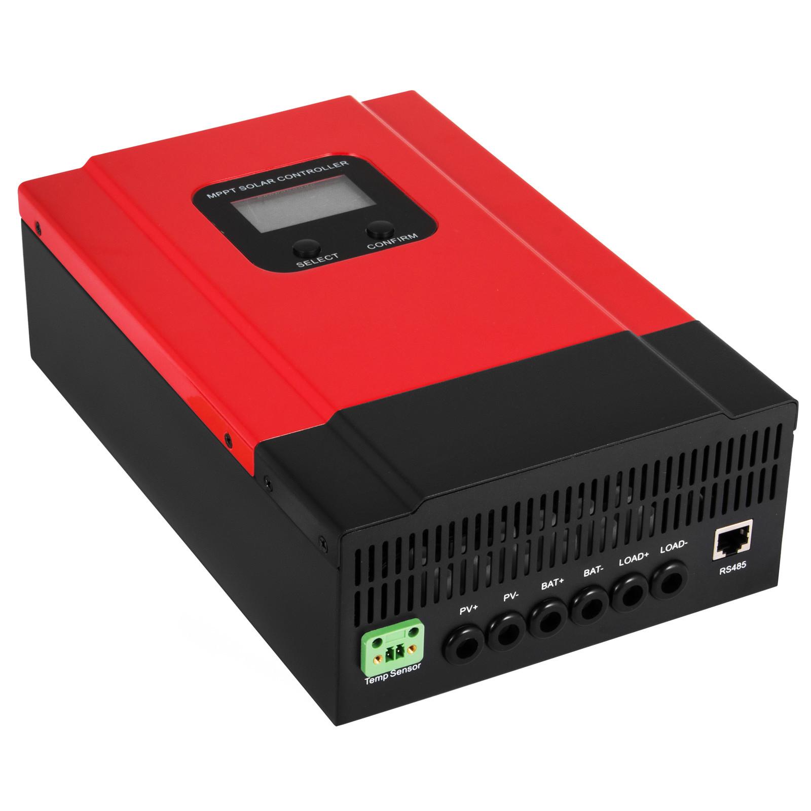 ESMART-3-LCD-40a-50a-60a-12v-24v-36v-48v-MPPT-Solar-Charge-Controller-Regolatore-di-carica miniatura 16