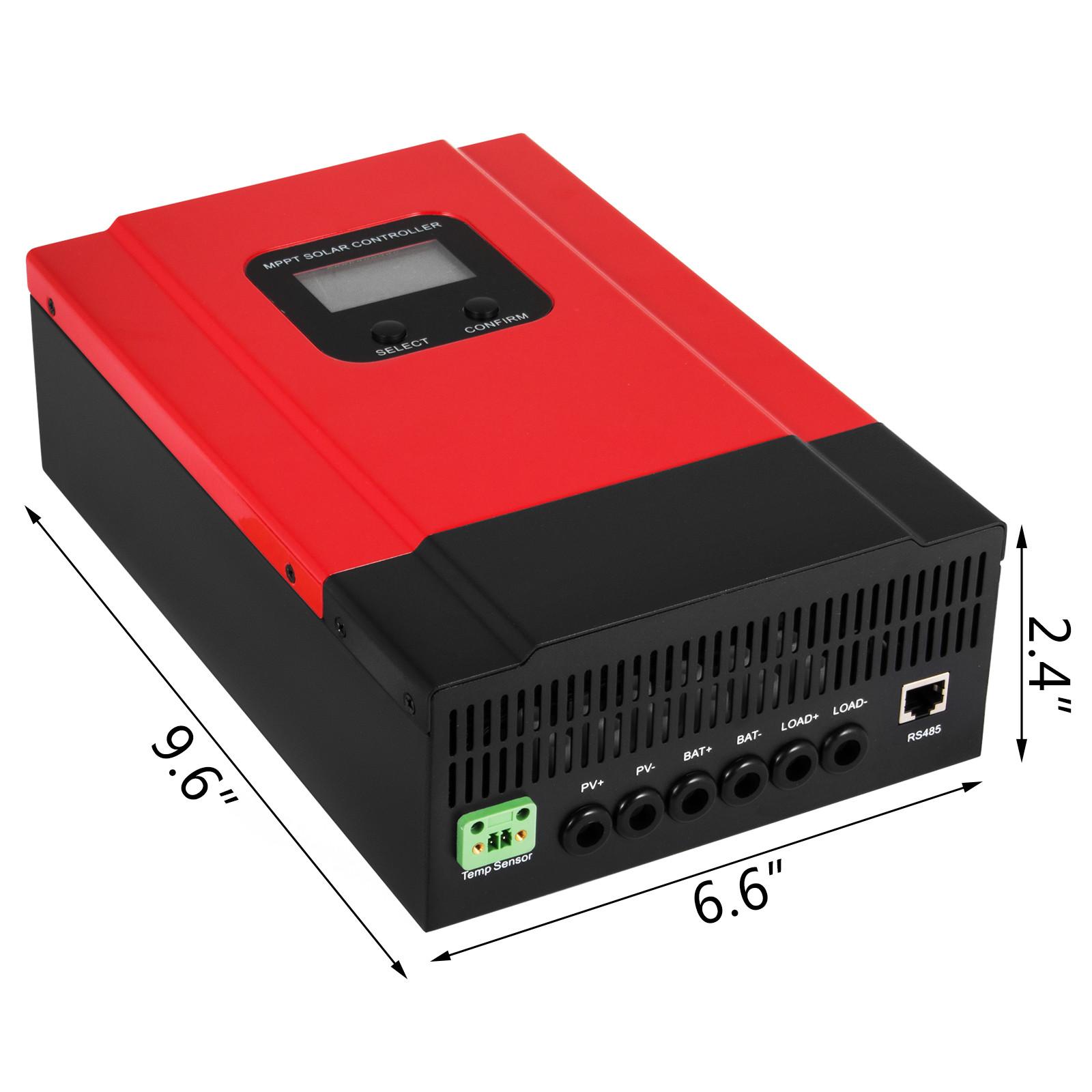 ESMART-3-LCD-40a-50a-60a-12v-24v-36v-48v-MPPT-Solar-Charge-Controller-Regolatore-di-carica miniatura 38