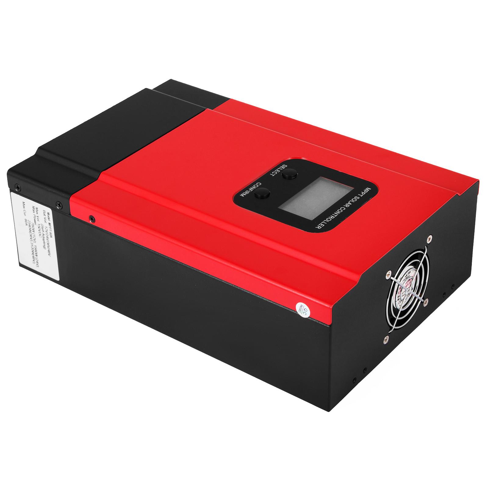 ESMART-3-LCD-40a-50a-60a-12v-24v-36v-48v-MPPT-Solar-Charge-Controller-Regolatore-di-carica miniatura 39